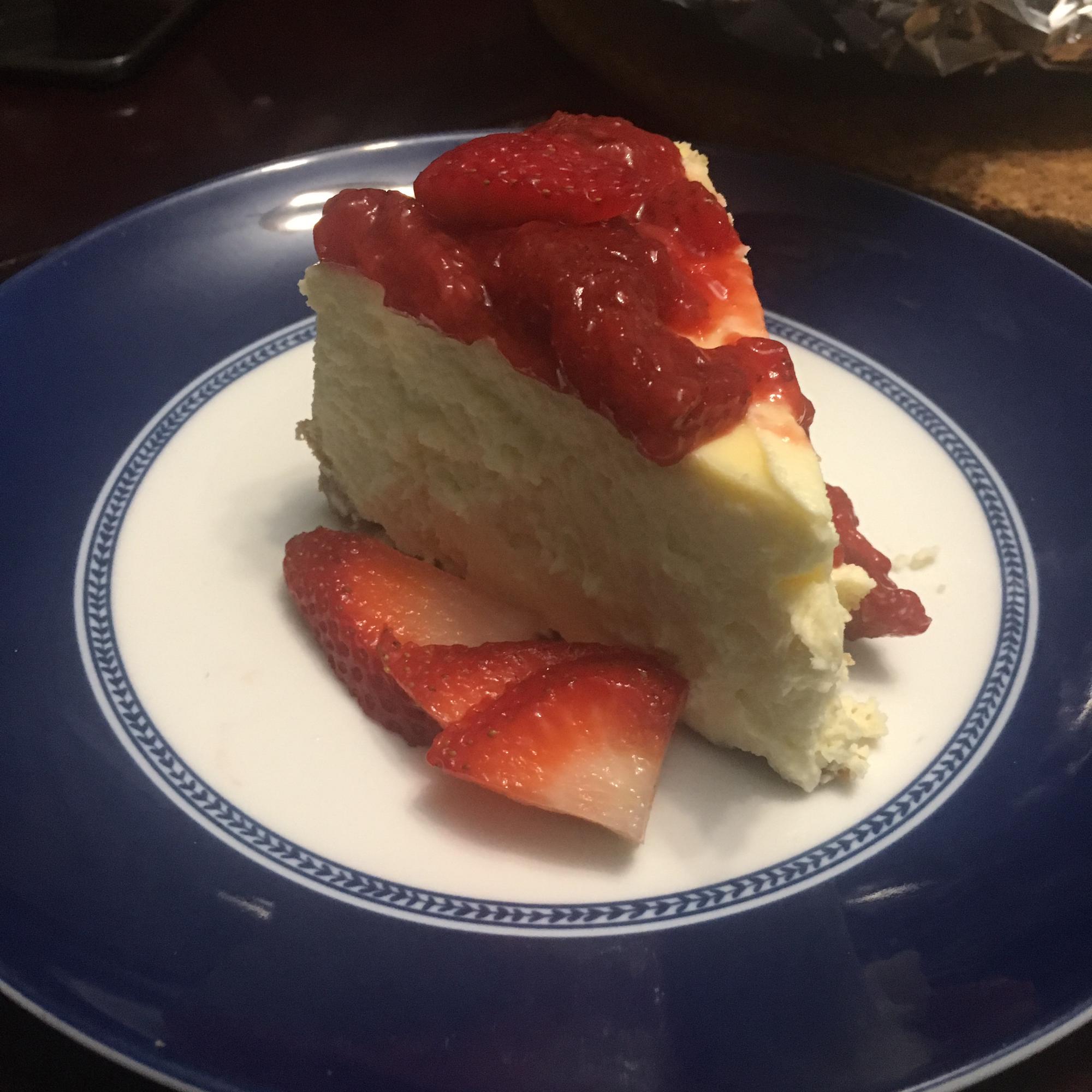 Creamy Baked Cheesecake Rachel Rosal