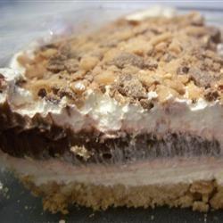 Piggy Pudding Dessert Cake