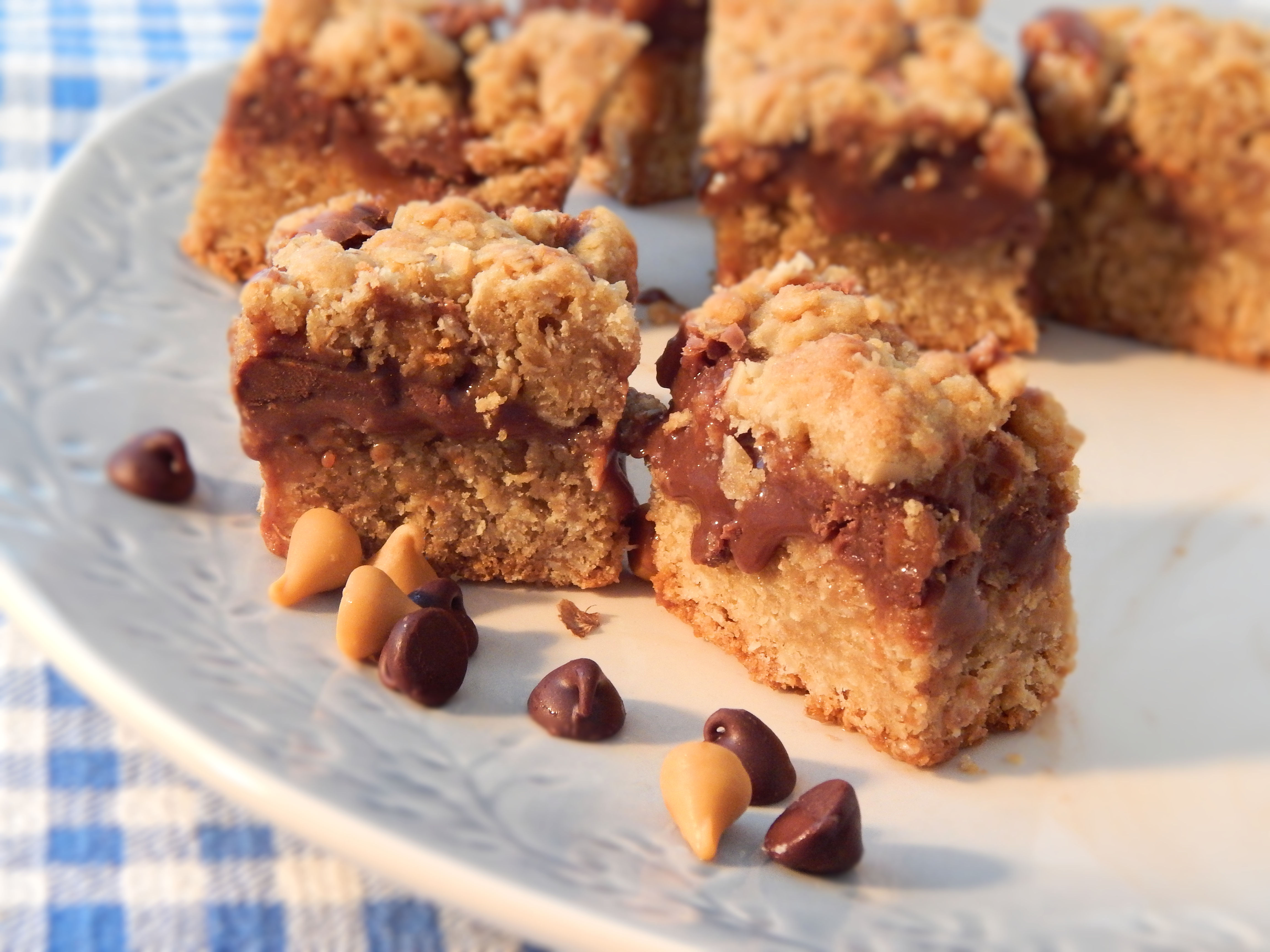 Fudge Jumbles (Chocolate Cookie Bars)