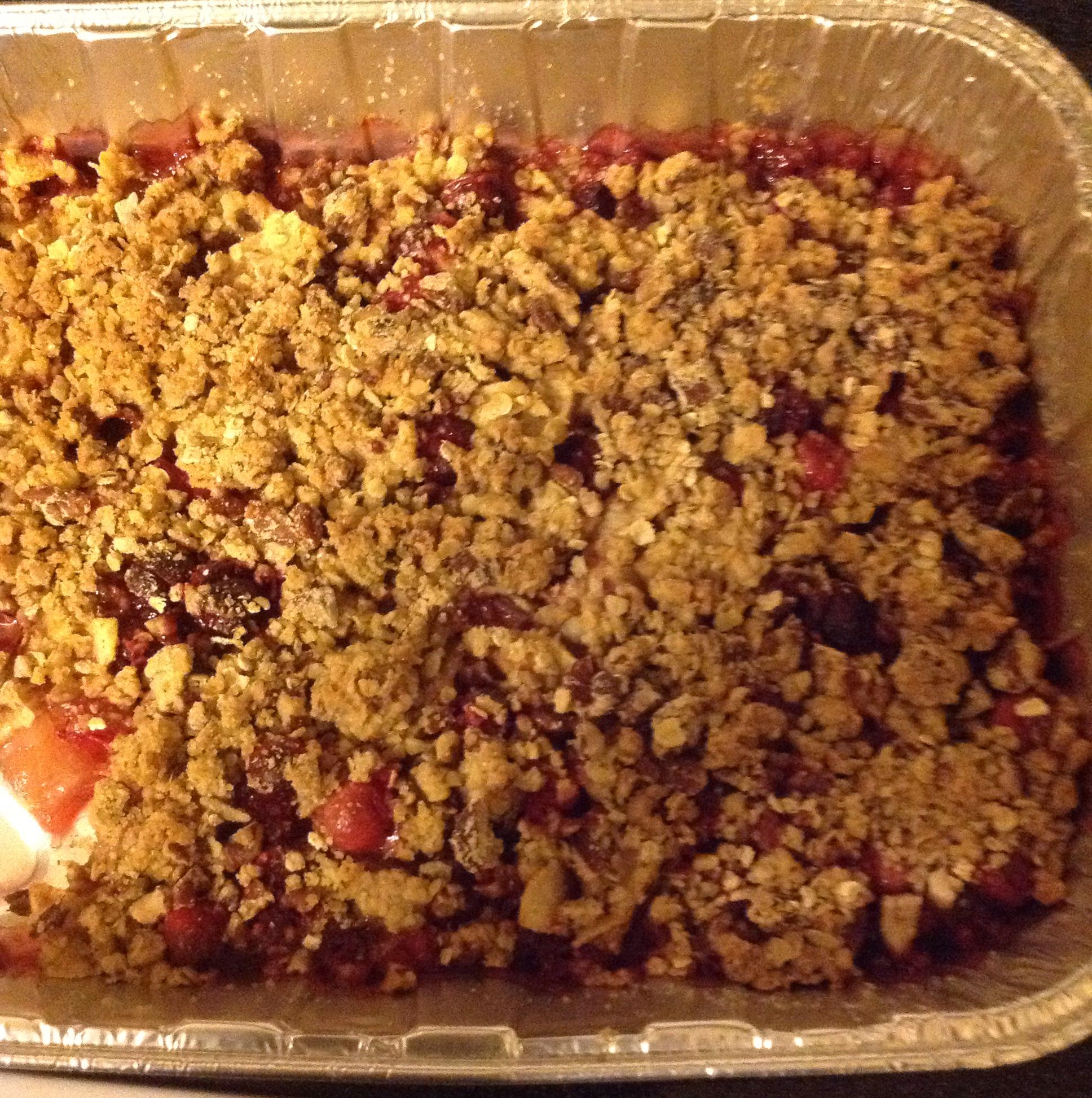 Apple-Cranberry Crisp ShadaJoe