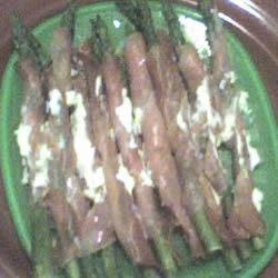 Asparagus Wrapped in Crisp Prosciutto