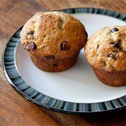 Chocolate Chip Banana Muffins DBenda