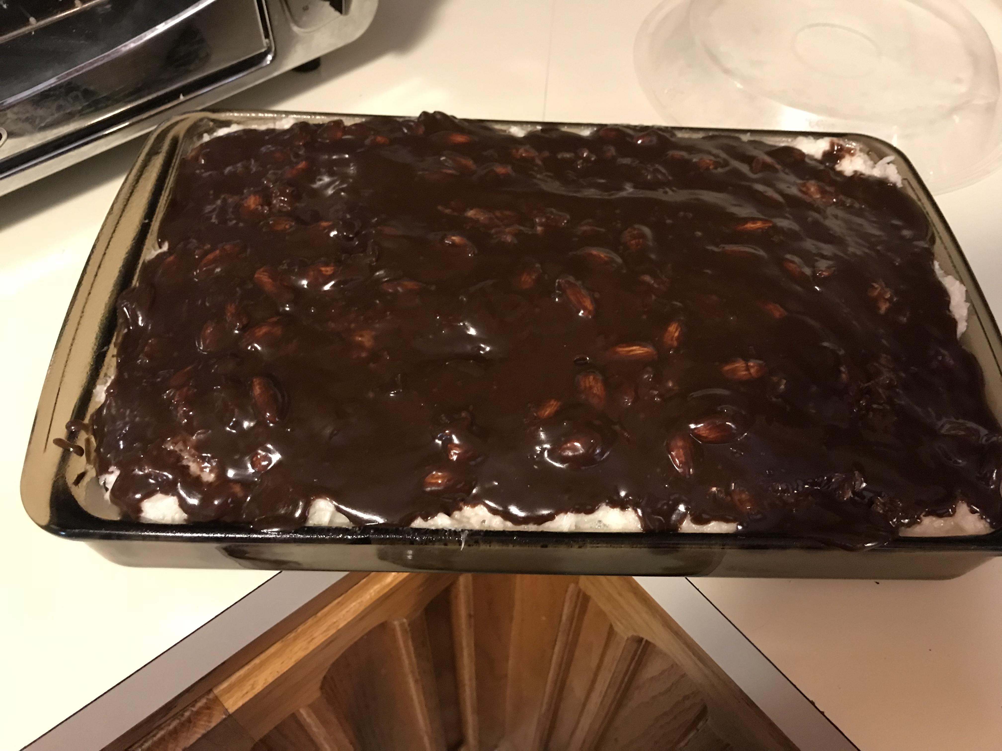 Almond Joy® Cake