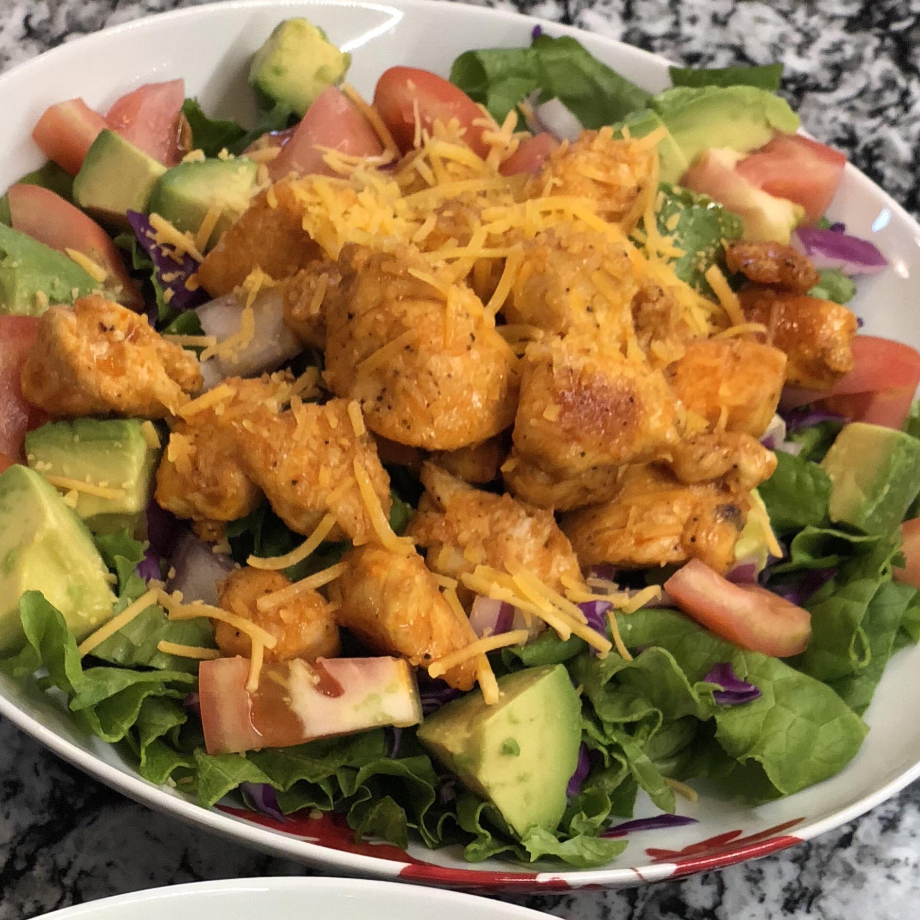 Buffalo Chicken Salad Bowls Nora Wehmer