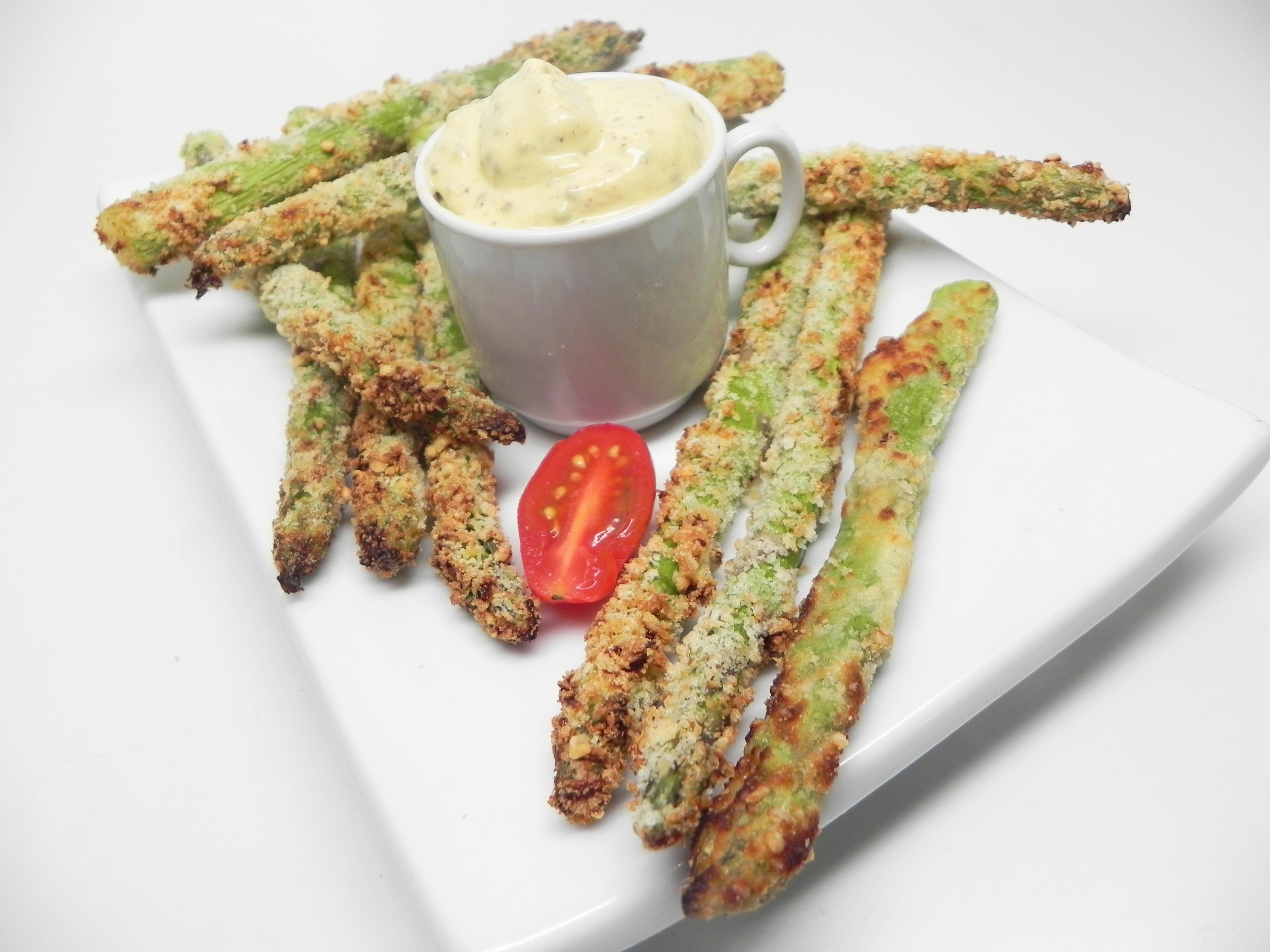 Air-Fryer Asparagus Fries