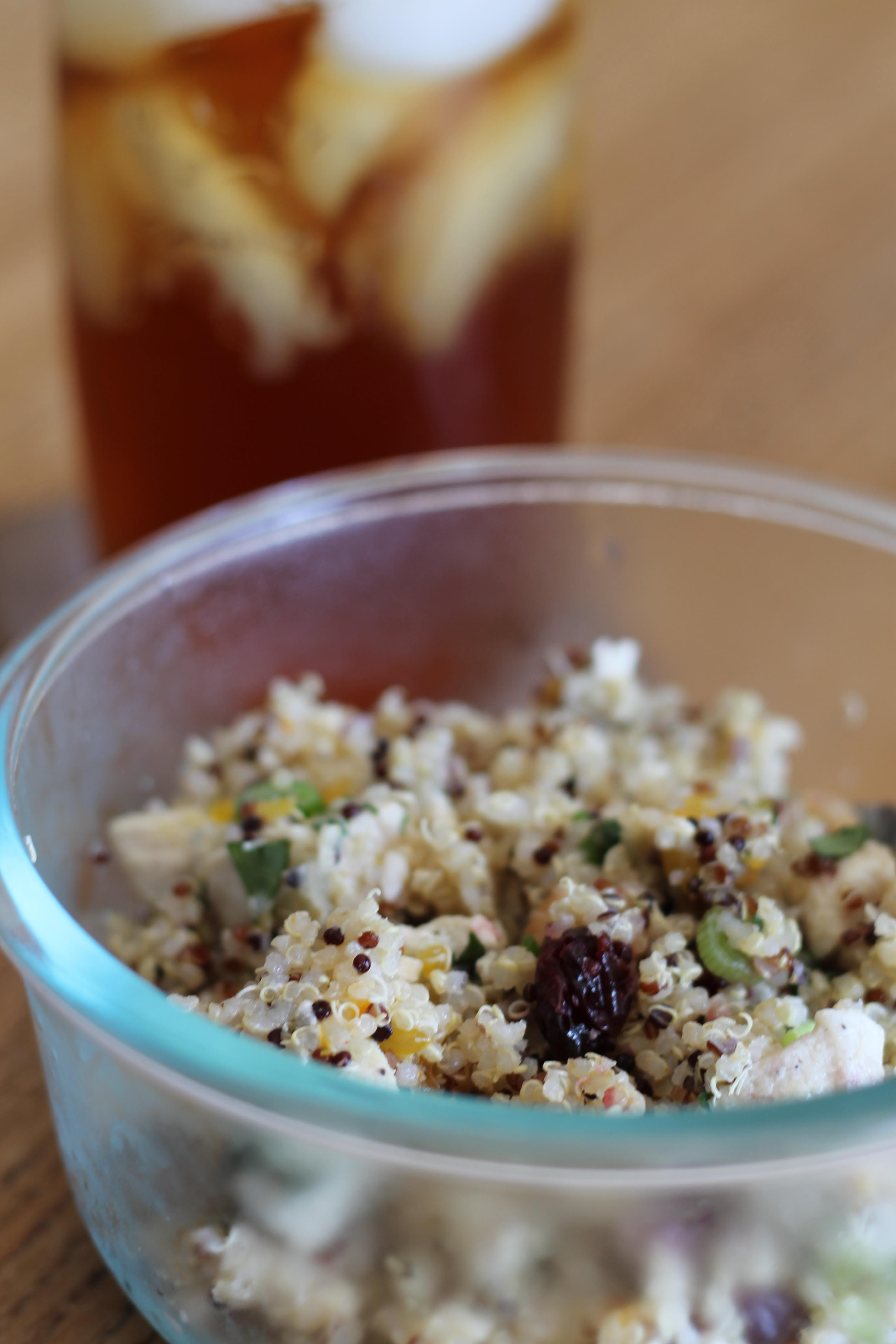 Quinoa Salad with Dried Fruit and Nuts NATALIE17