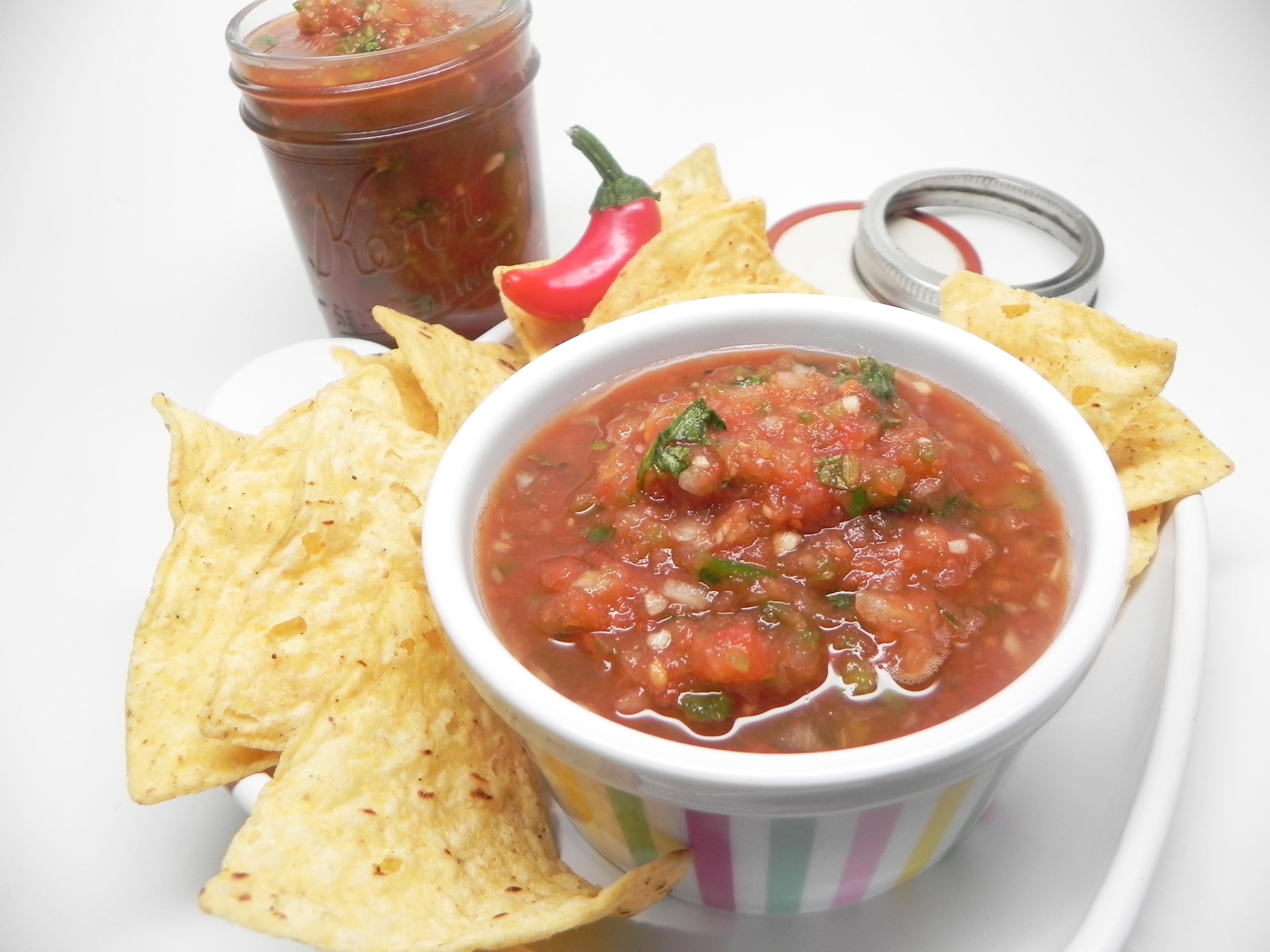 Homemade Hot Sauce with Jalapenos