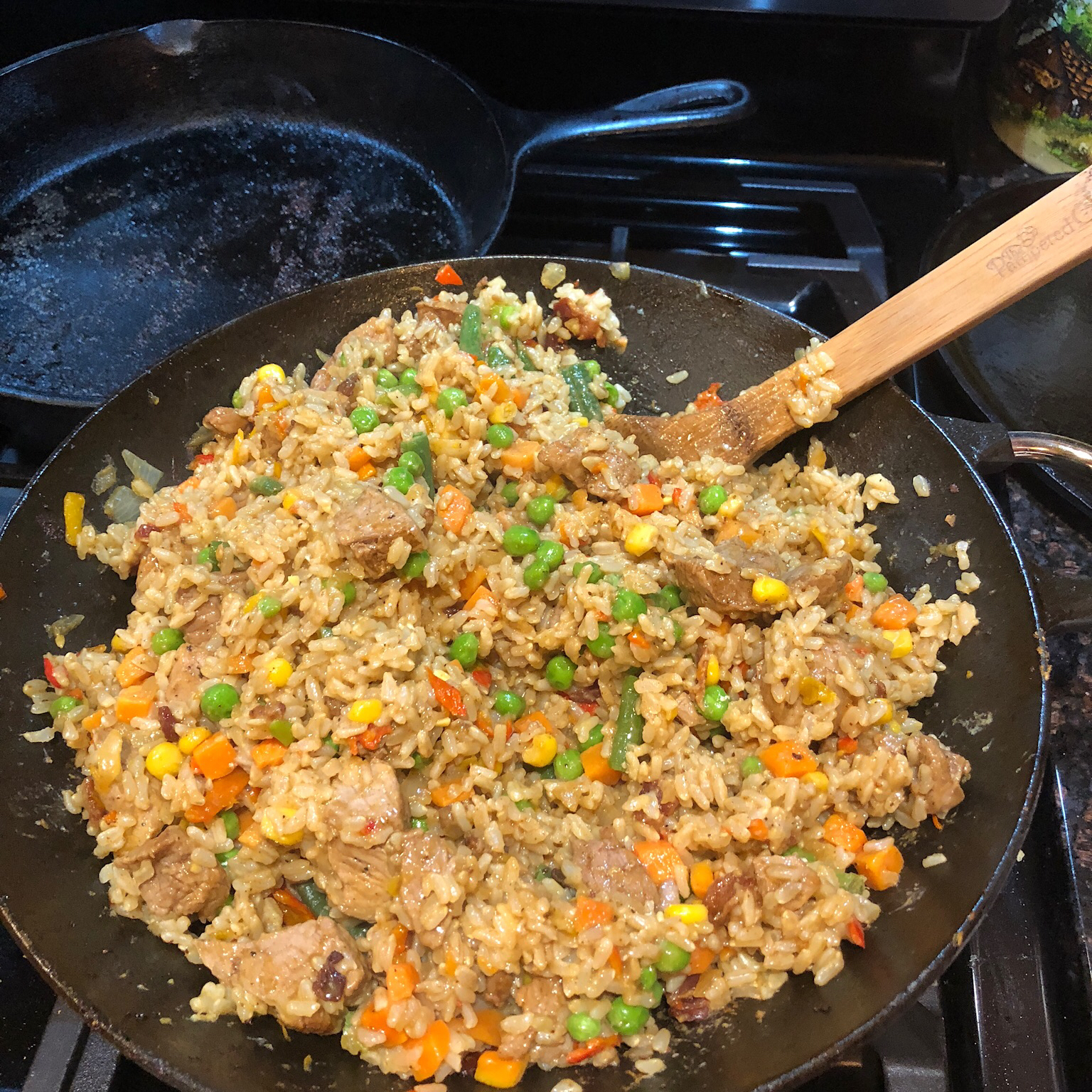 New Year's Fried Rice mevans