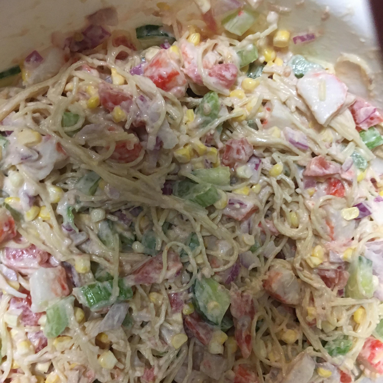 Rhonda's Confetti Spaghetti Pasta Salad