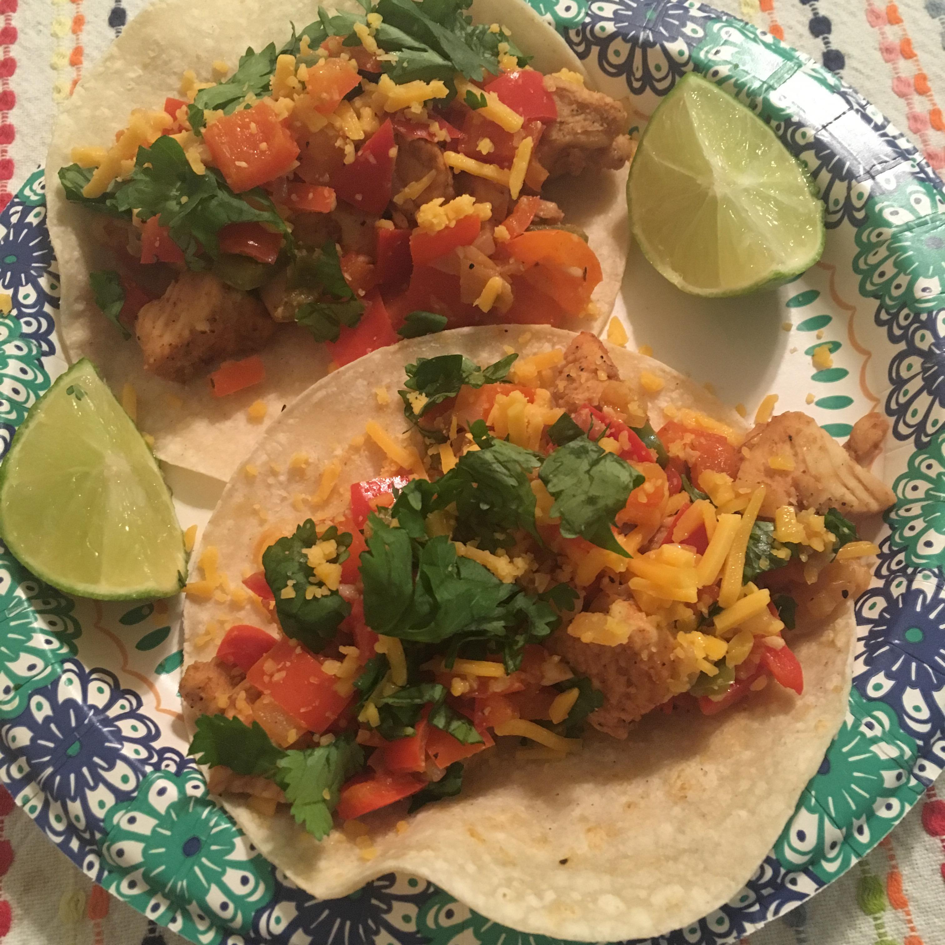 Skinny  Chicken Tacos palyssa