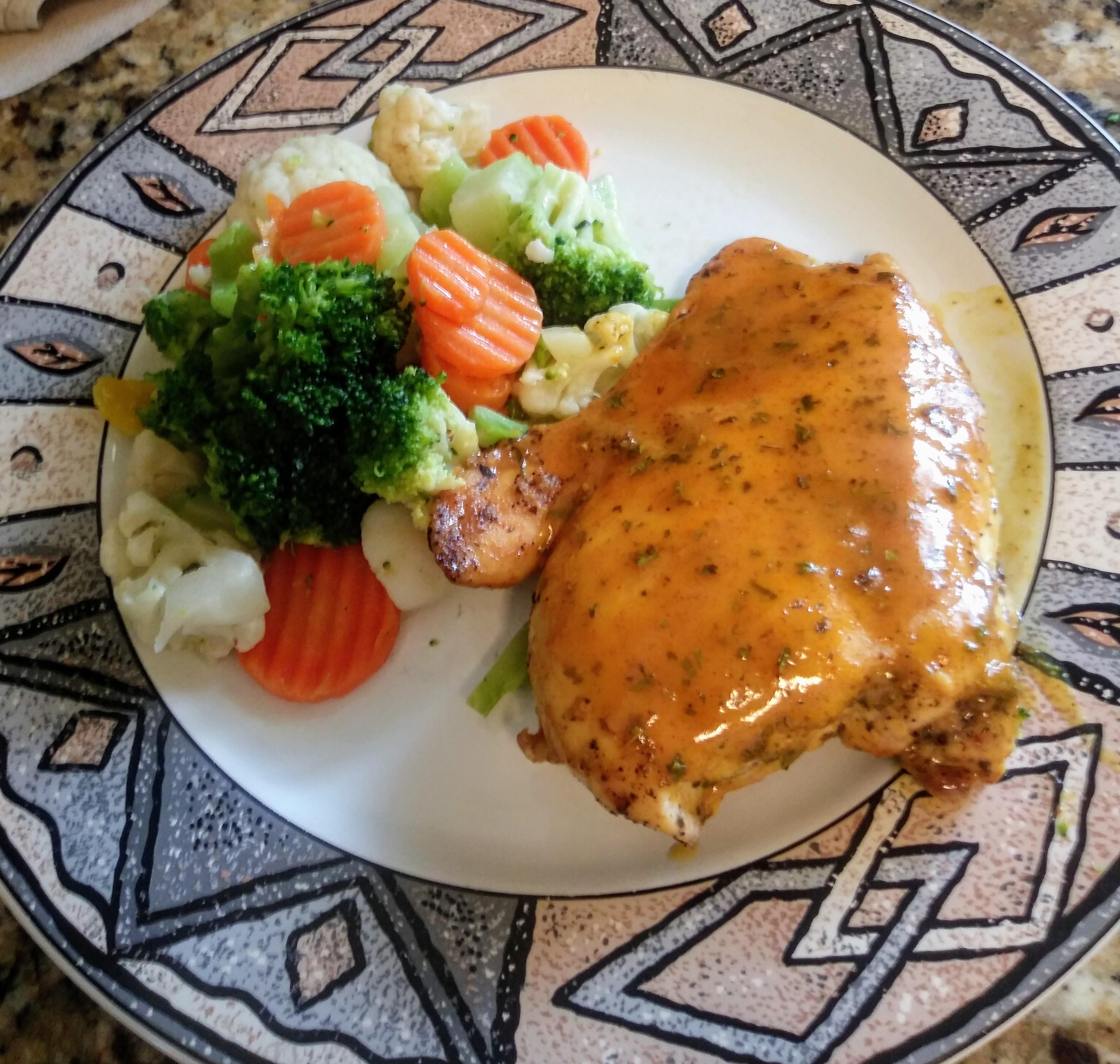 Baked Honey Mustard Chicken Michelle