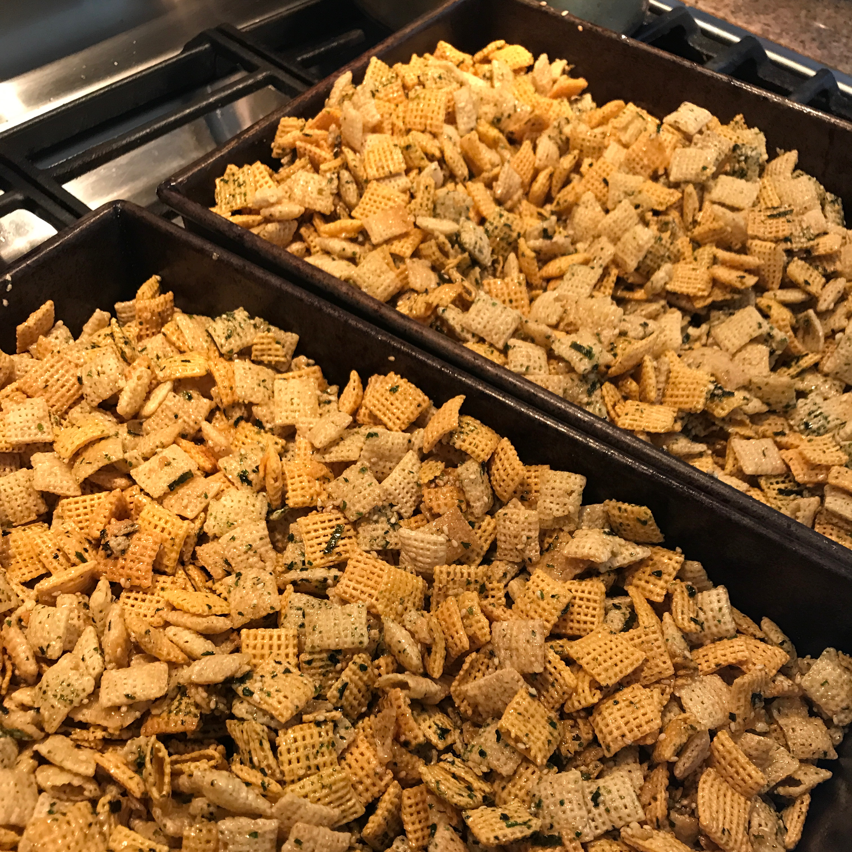 Furikake Snack Mix Alvin