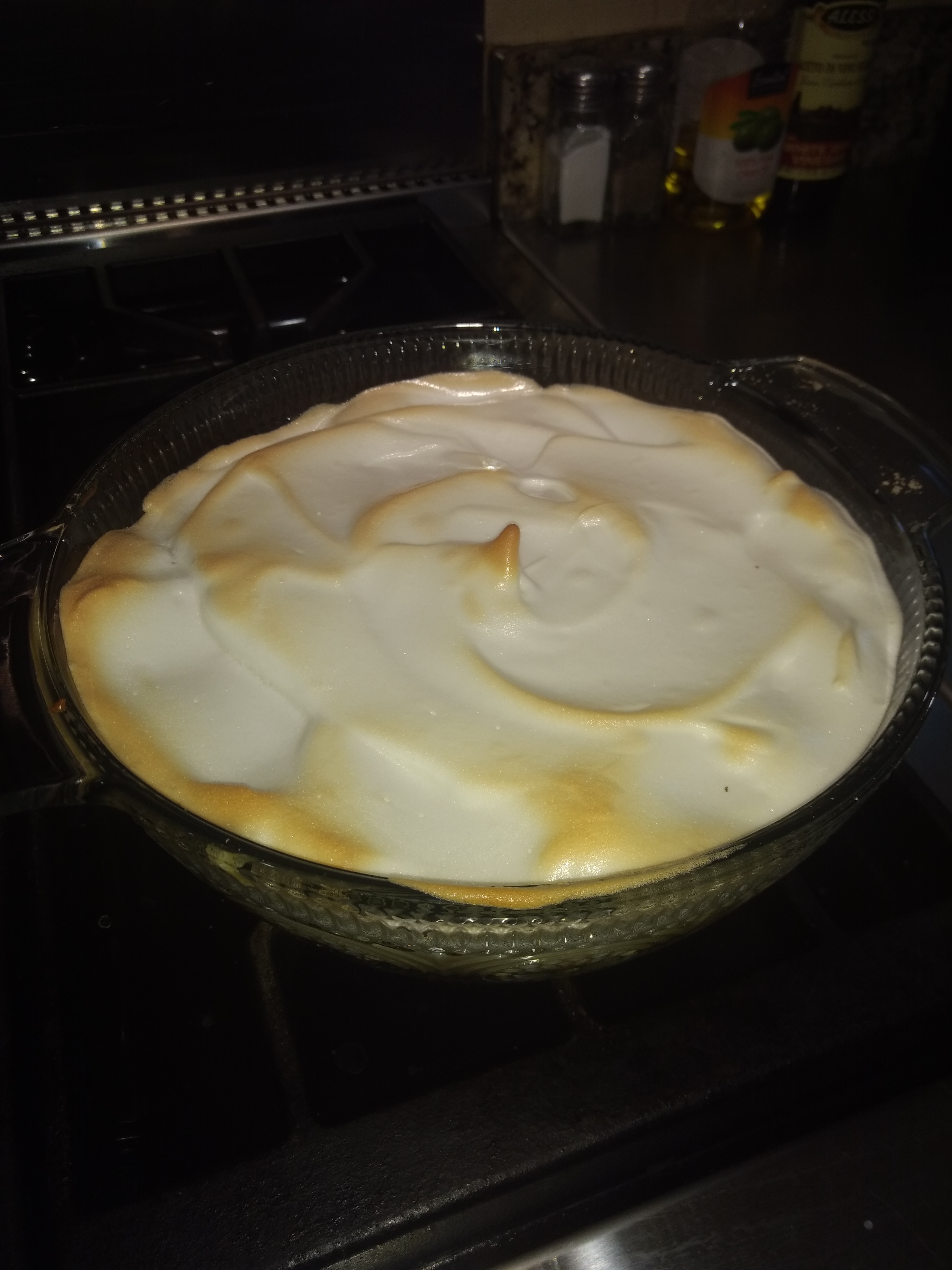 Homemade Banana Pudding Pie