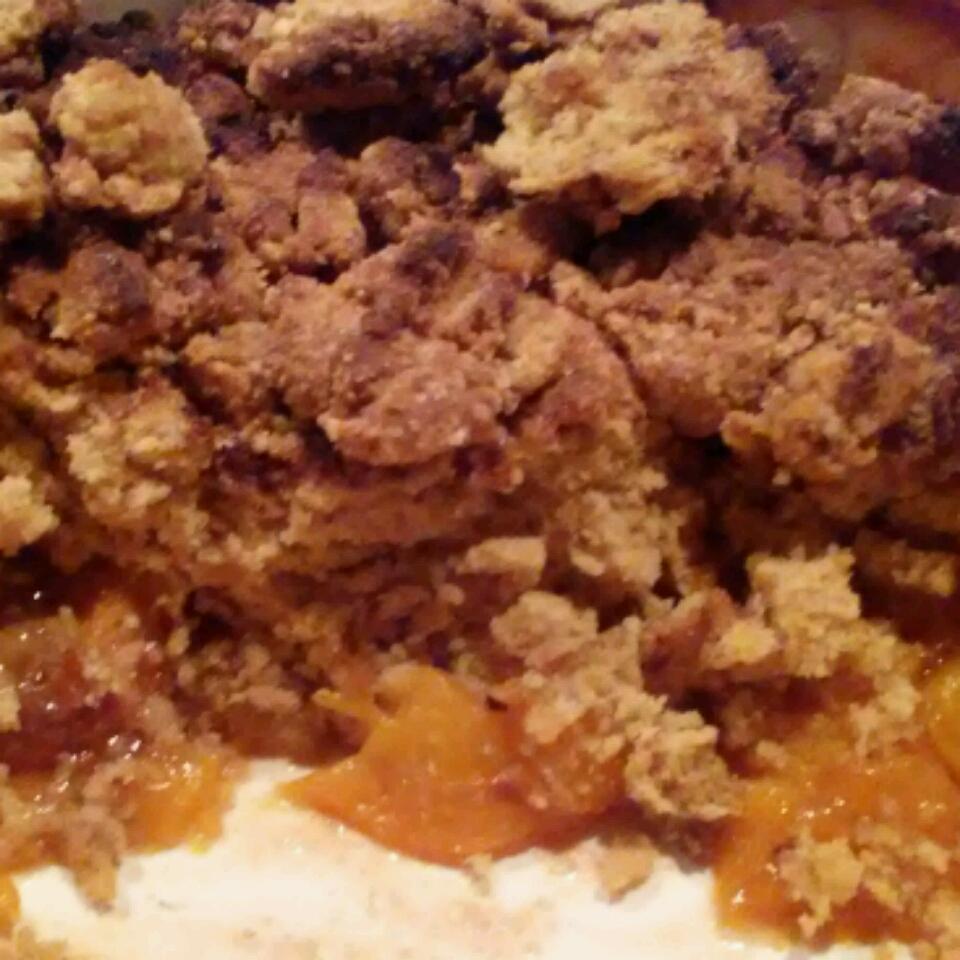 Healthier Southern Peach Cobbler Michelle Burnett Wasserman