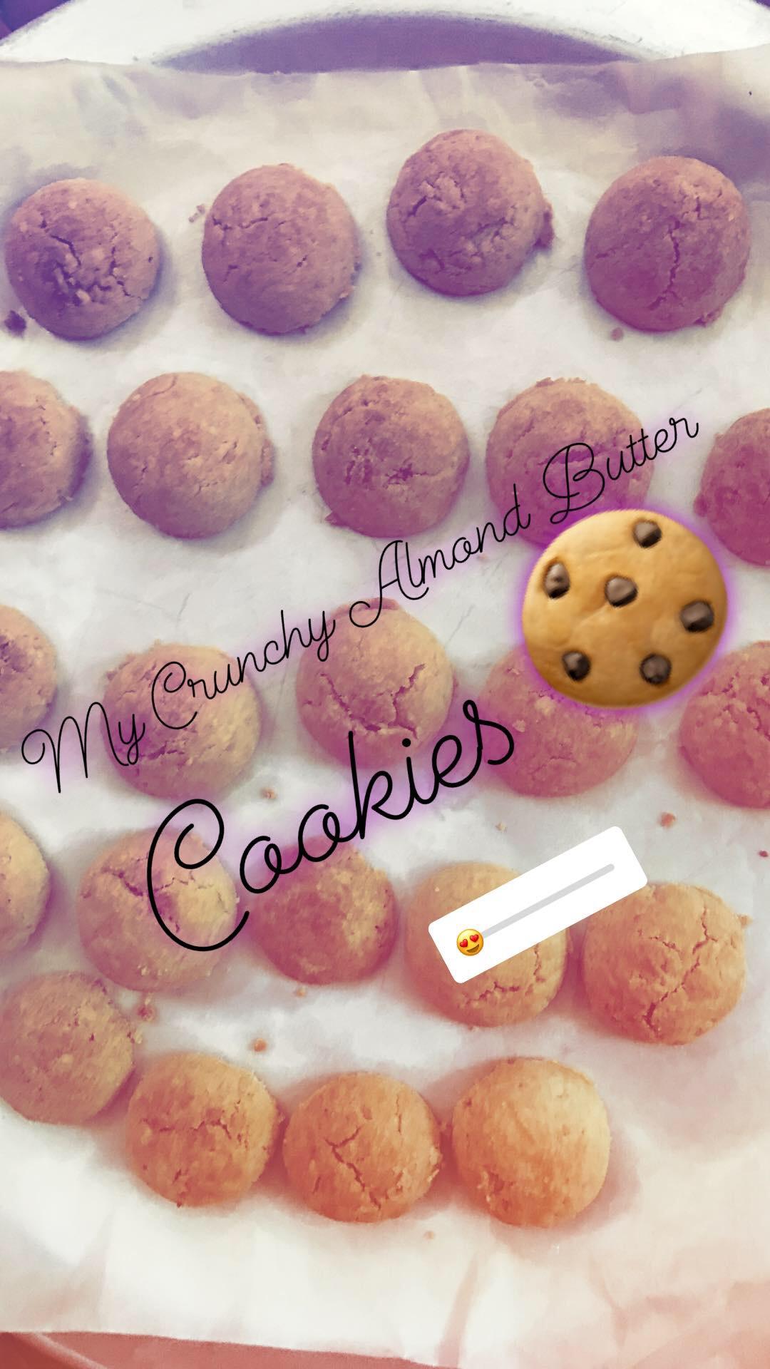 Easy Almond Butter Cookies Gabriela Jennifer