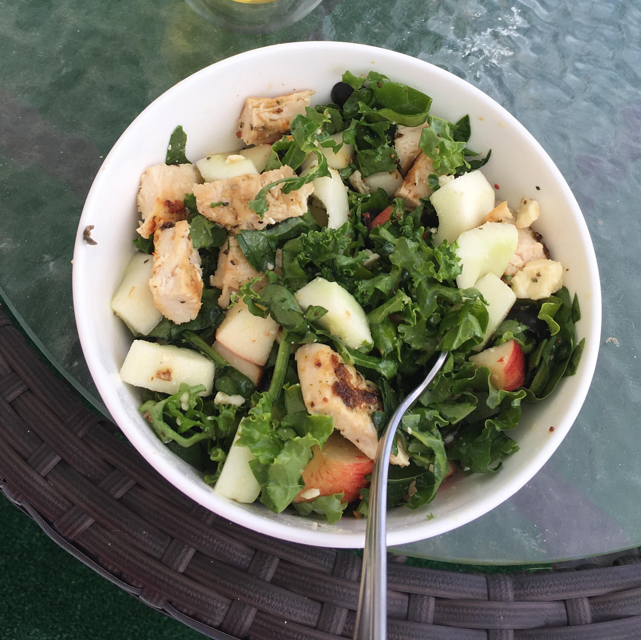 Kale and Feta Salad Sharriebeth