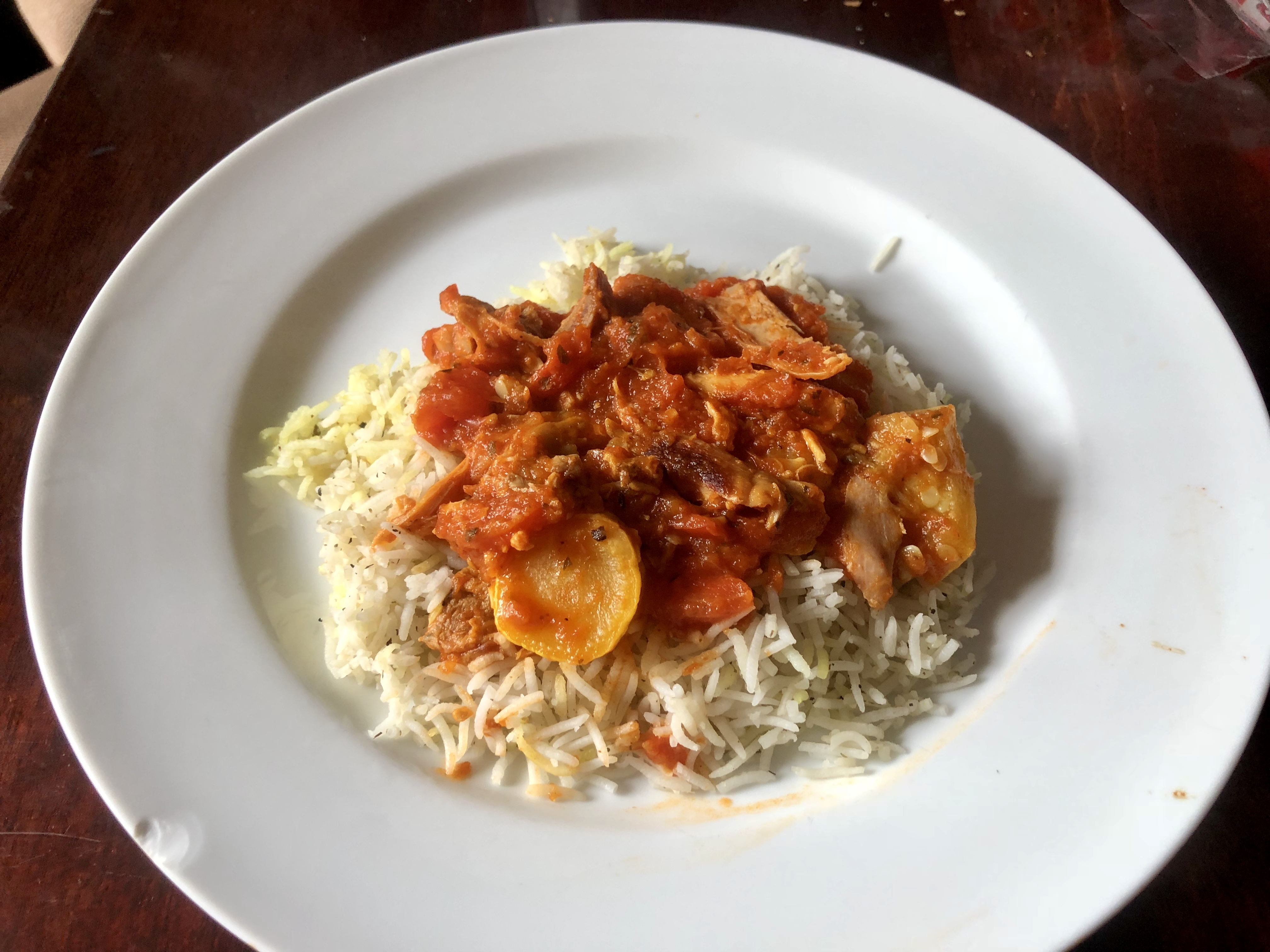 Italian Chicken and Vegetables over Rice Marsha Pierce