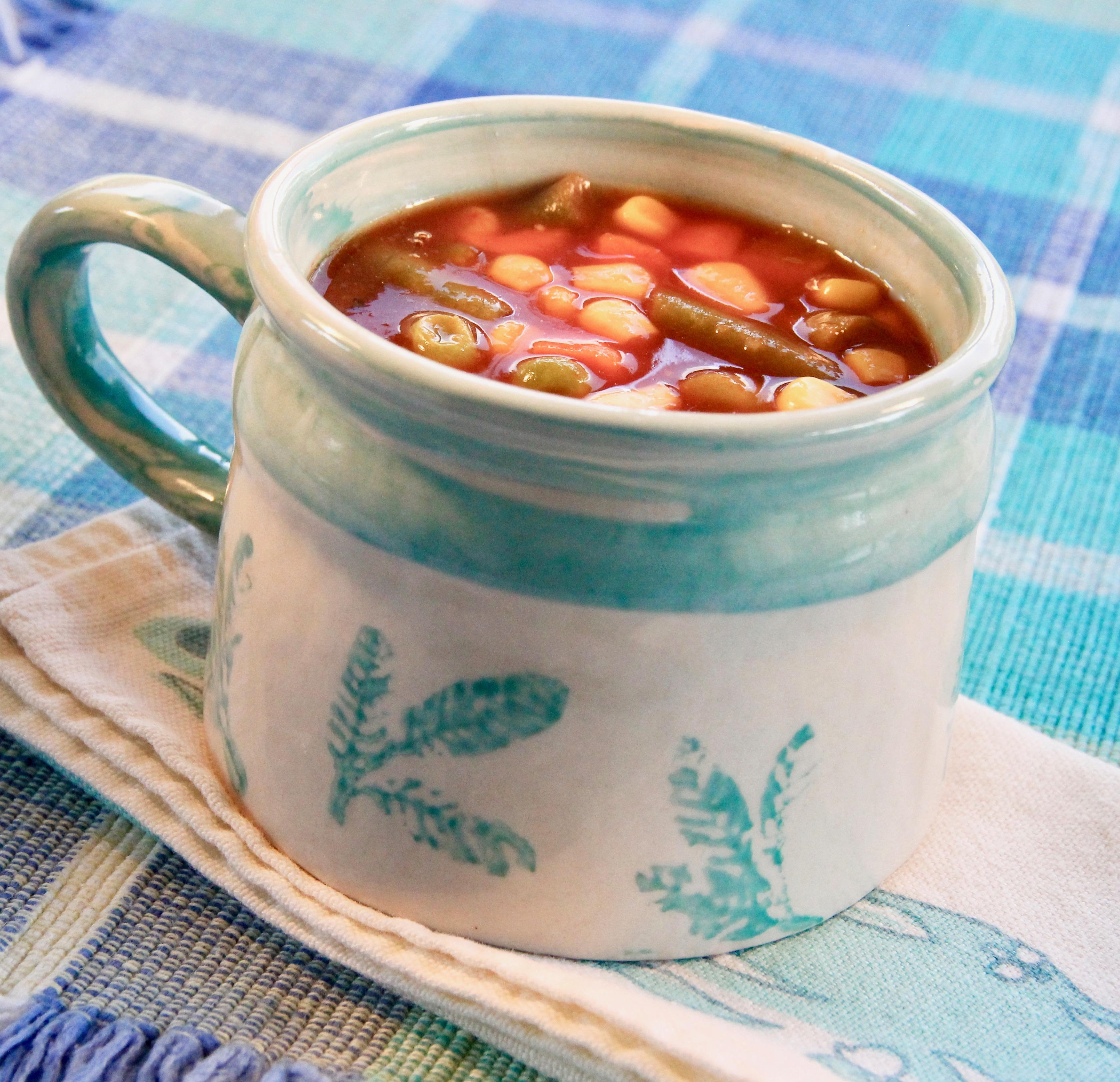 Colene's Easy Tomato Vegetable Soup