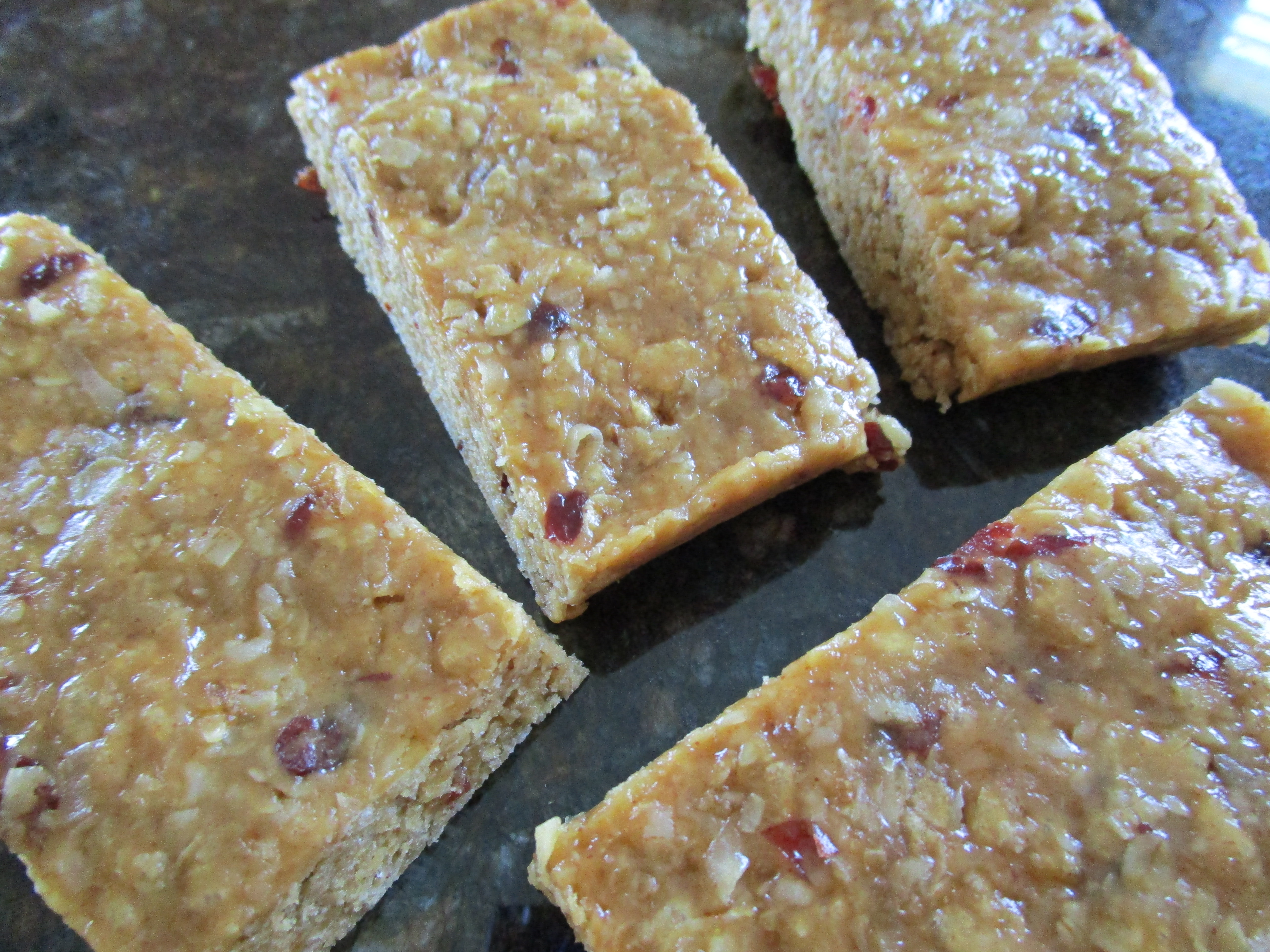 Chewy Peanut Butter Cranberry Bars Foodie