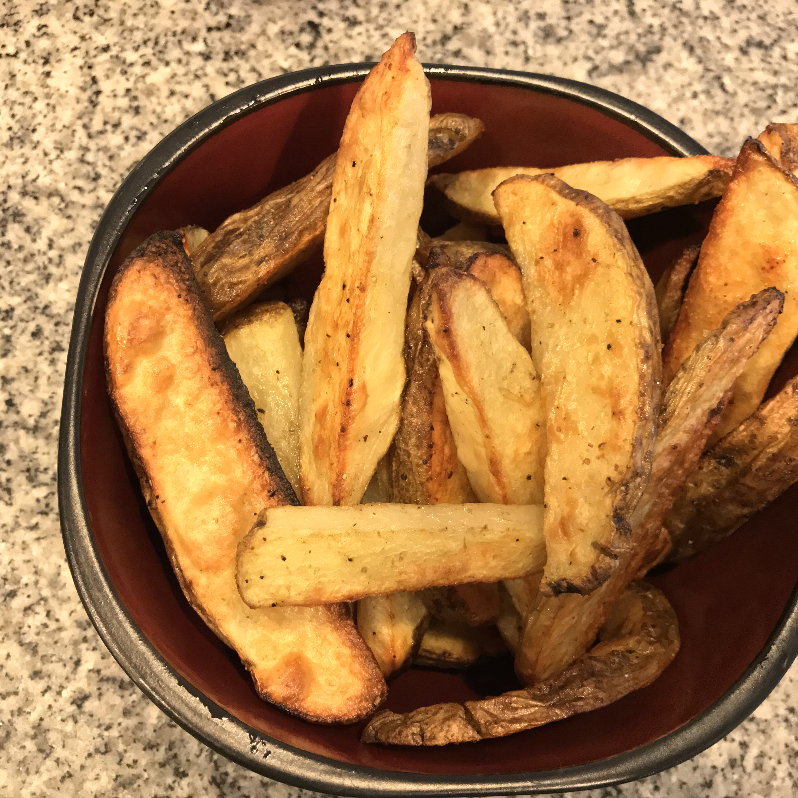 Best Baked French Fries CrimBrulee