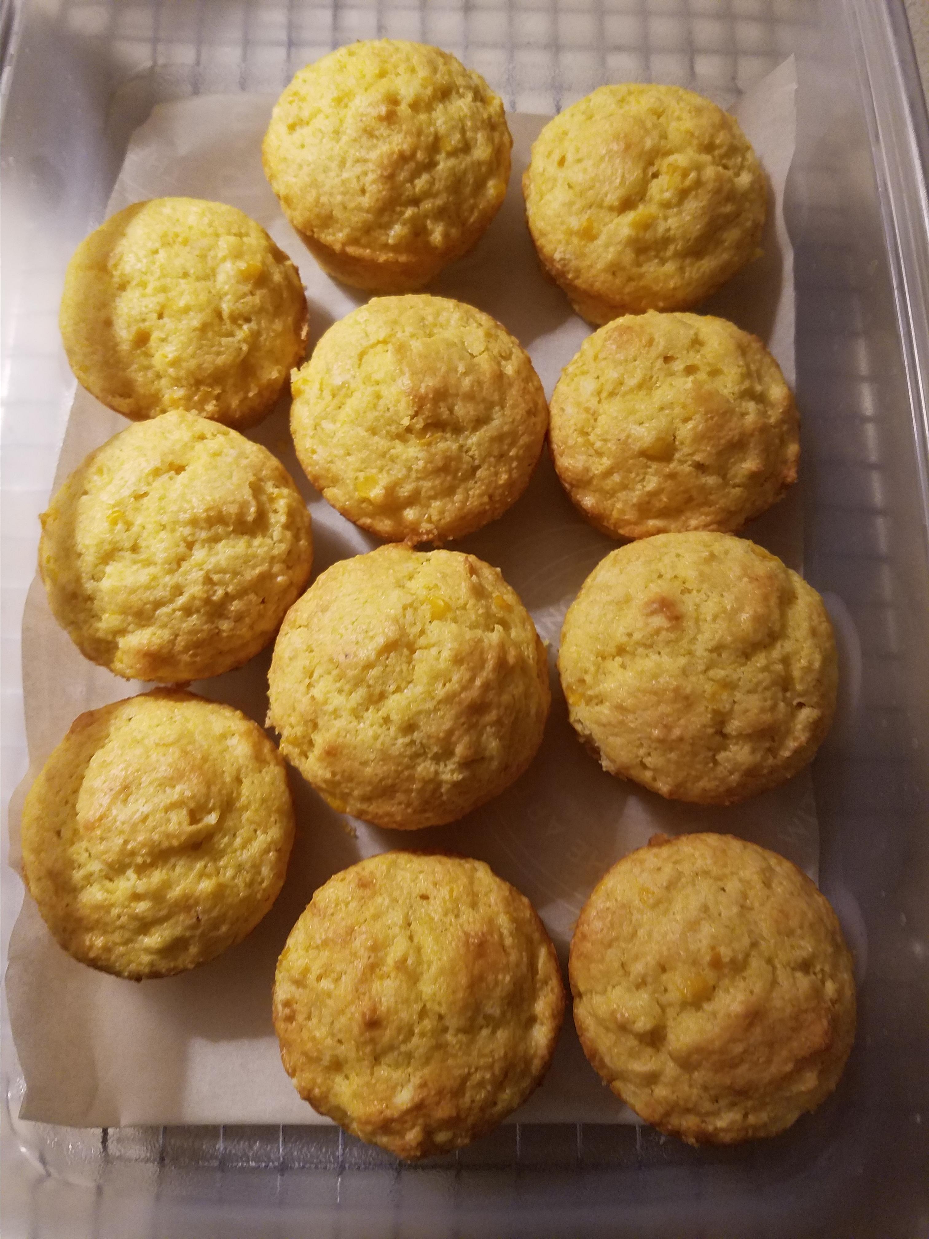 Easy, Speedy Corn Muffins Tammy Roche
