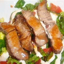 Steak Salad (Ranen Salad) amandak23k
