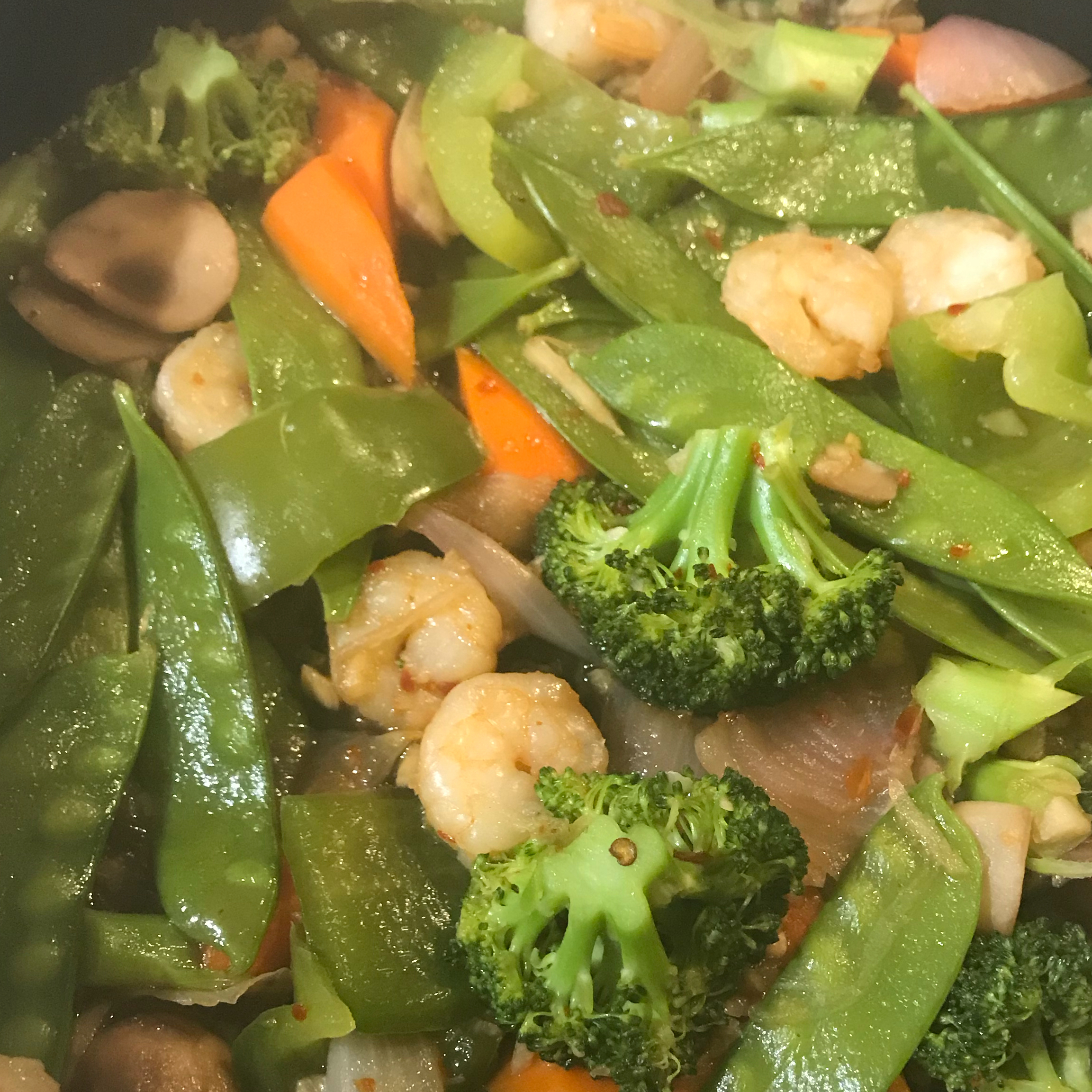 Shrimp Stirfry adnfz