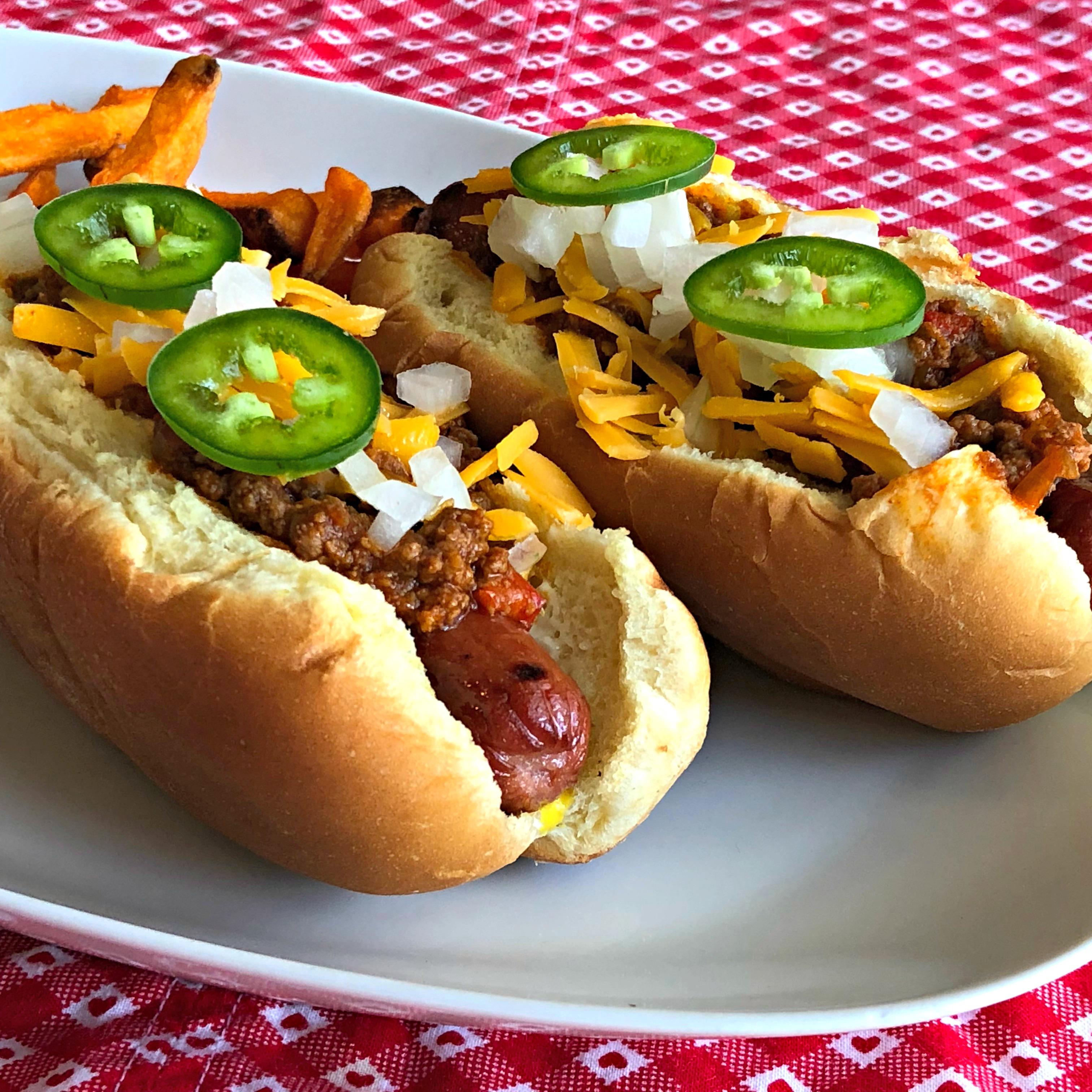 Texas Chili Dog