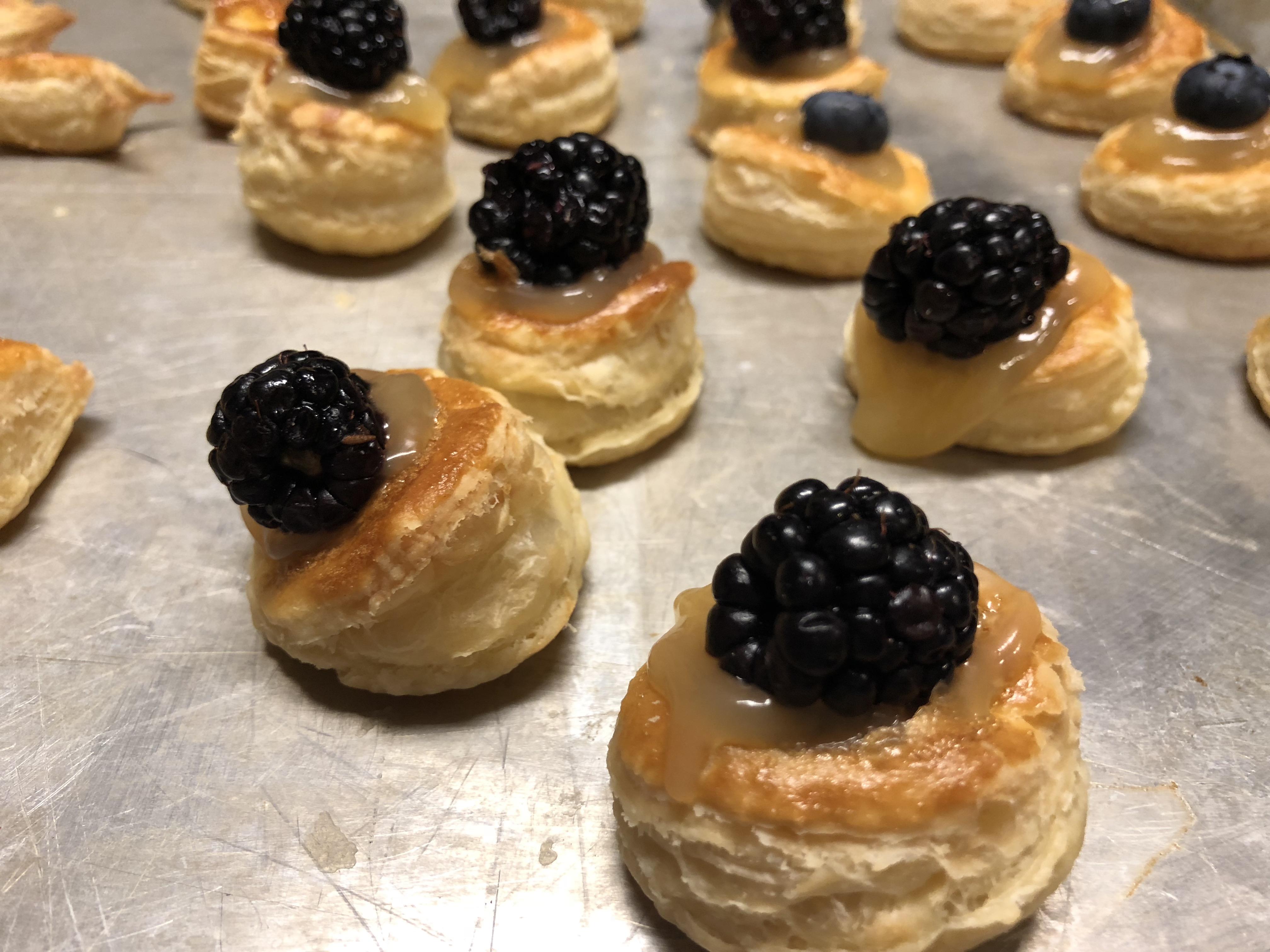 Lemon Berry Tartlets Victoria Baca