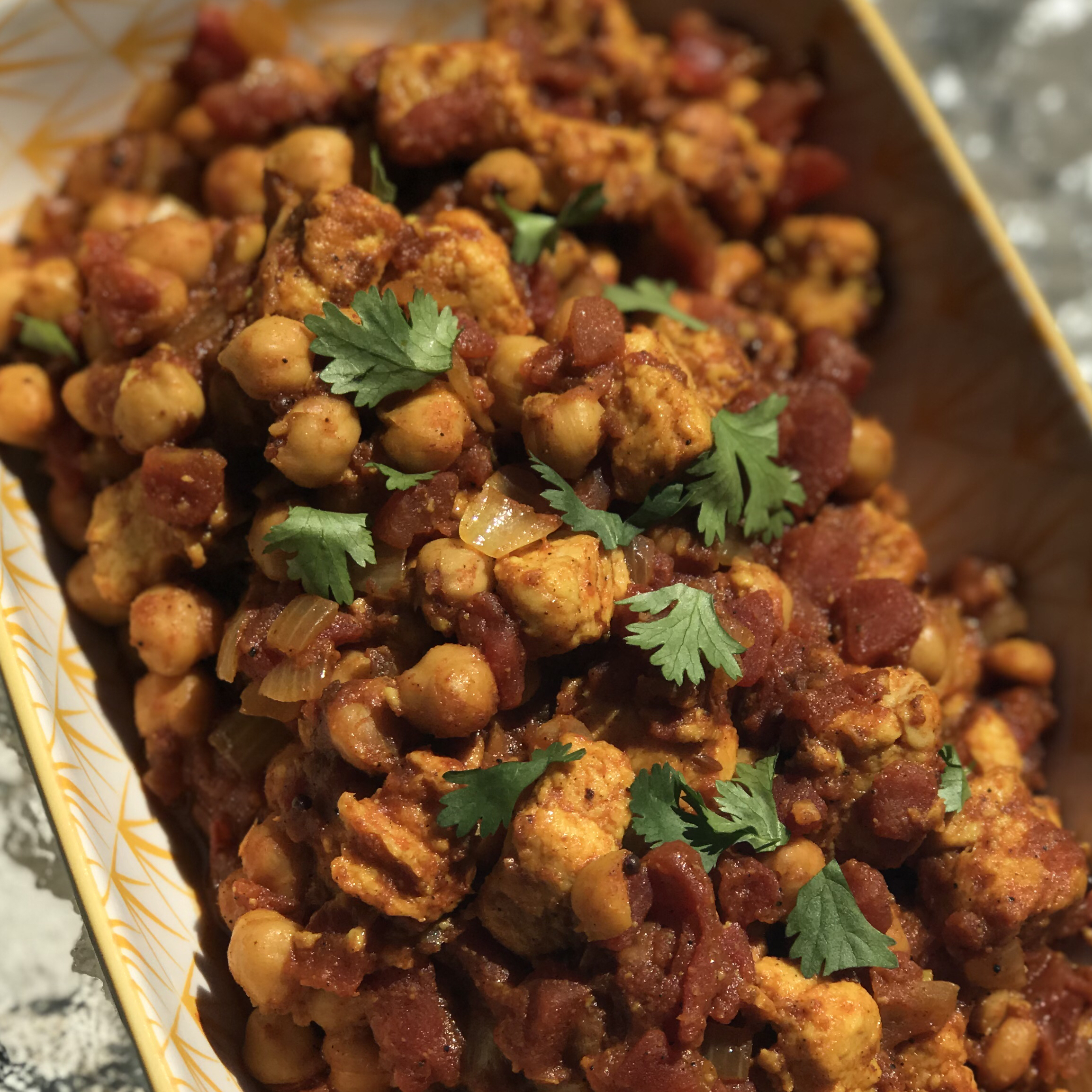 Quorn™ and Chickpea Curry MommaBean3