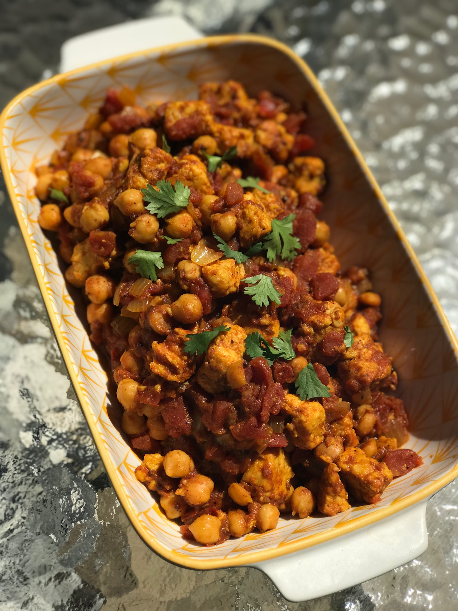 Quorn™ and Chickpea Curry