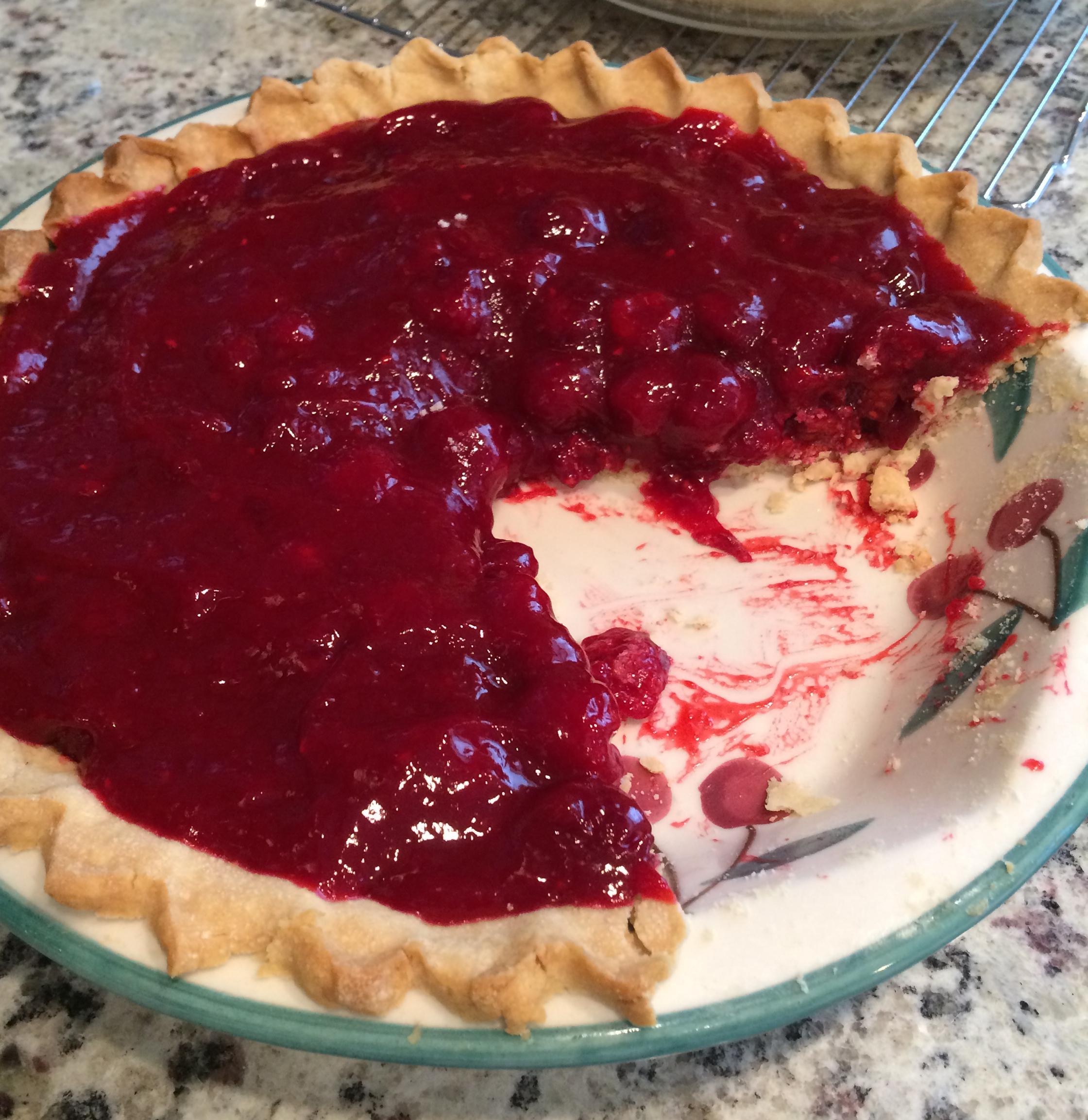 Summer Fresh Raspberry Pie Mary Steffens Arima