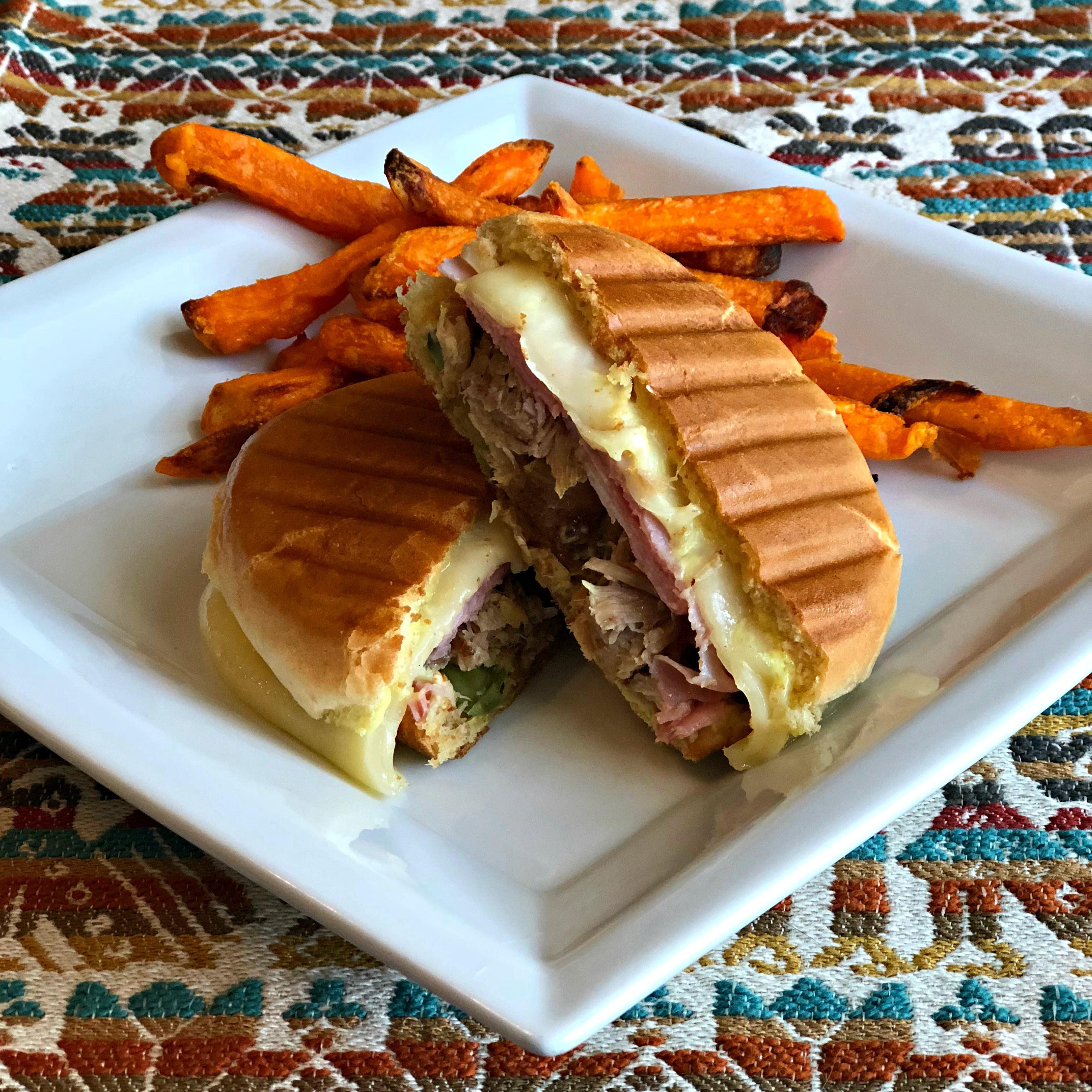 Grilled Cuban Bunini Sandwich Happyschmoopies