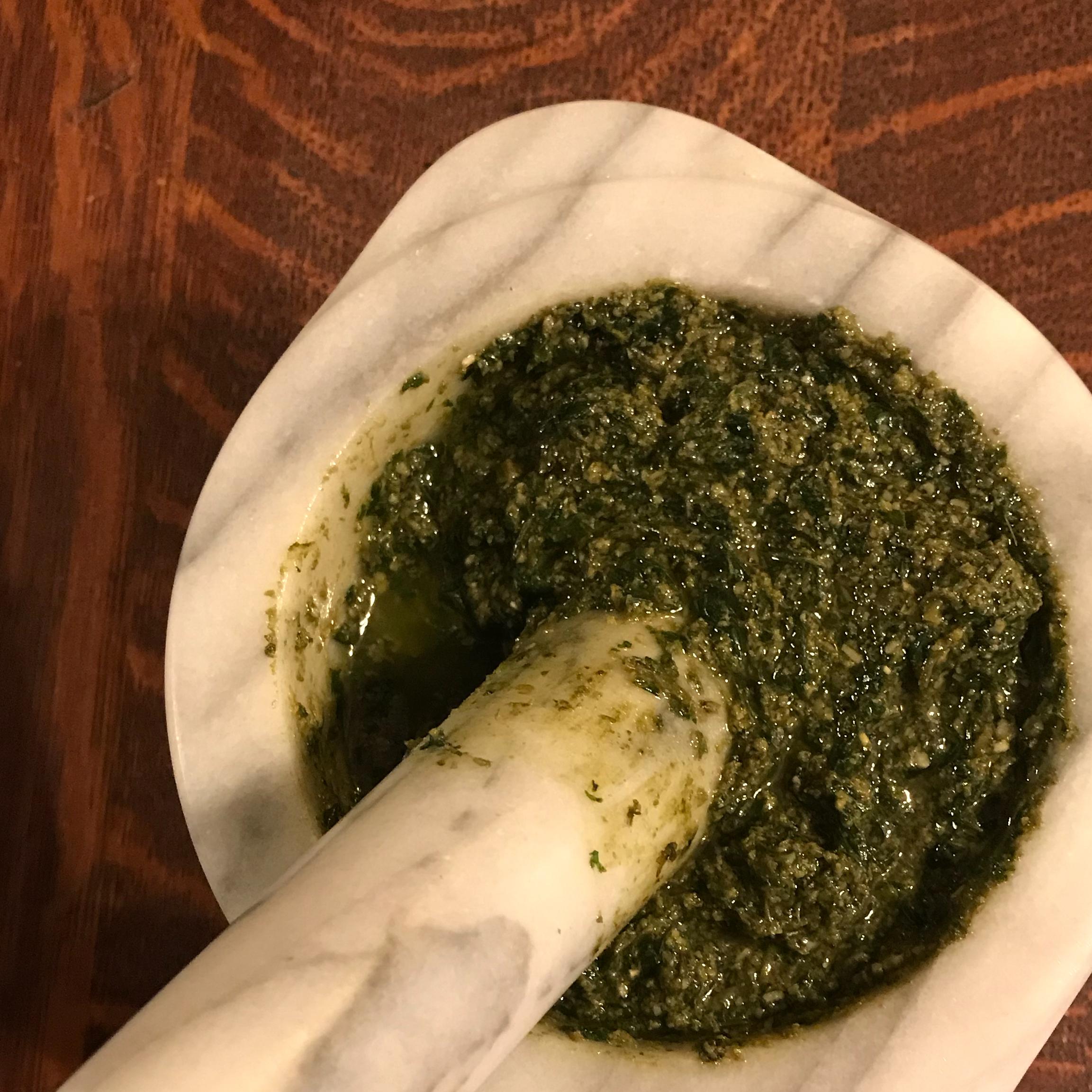 Proper Pesto HenClaire