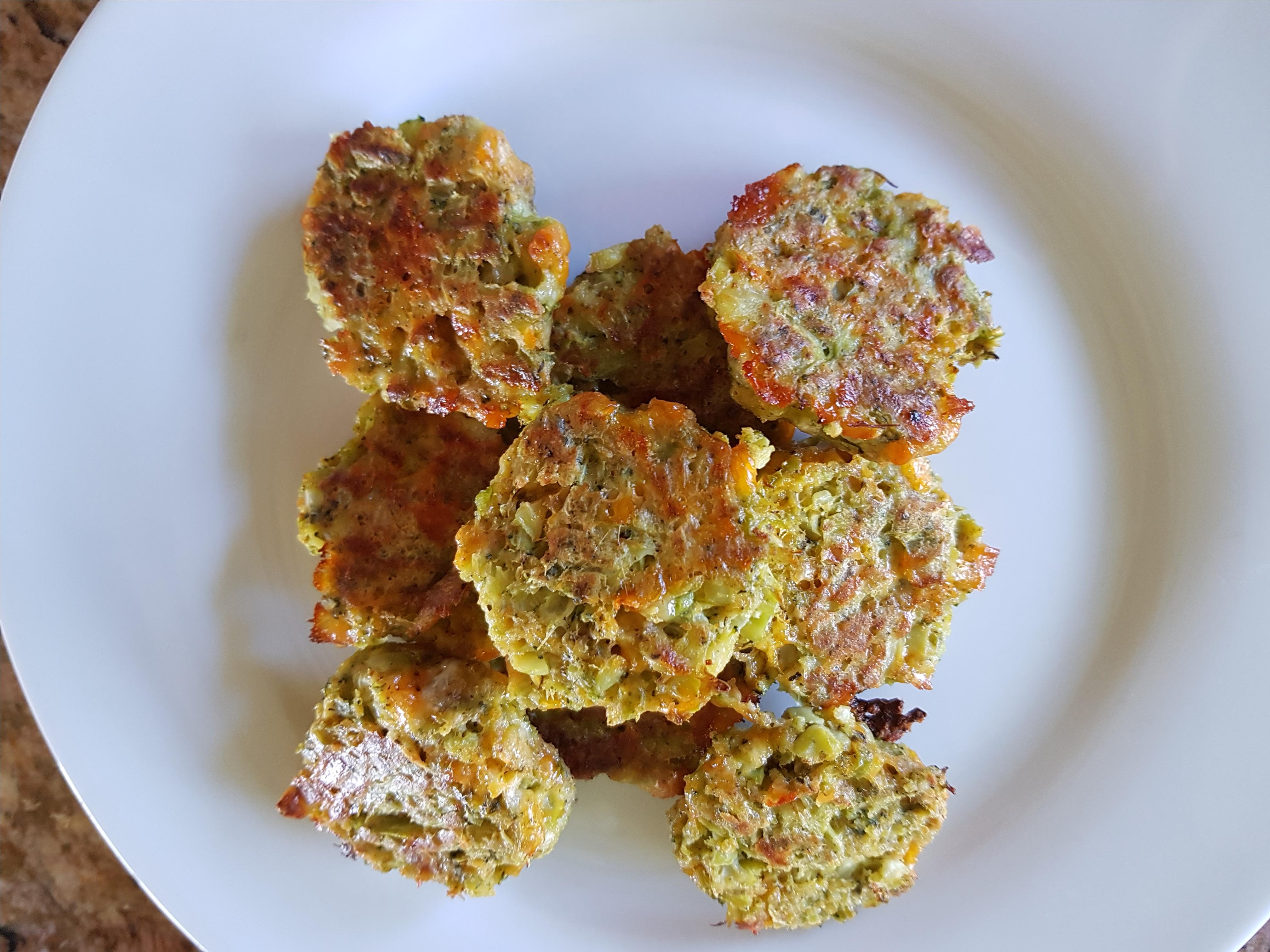 Broccoli and Cheddar Nuggets Megs