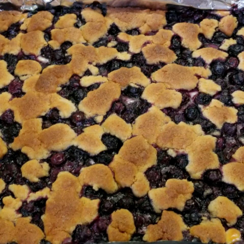 Lemon-Blueberry Crumb Bars