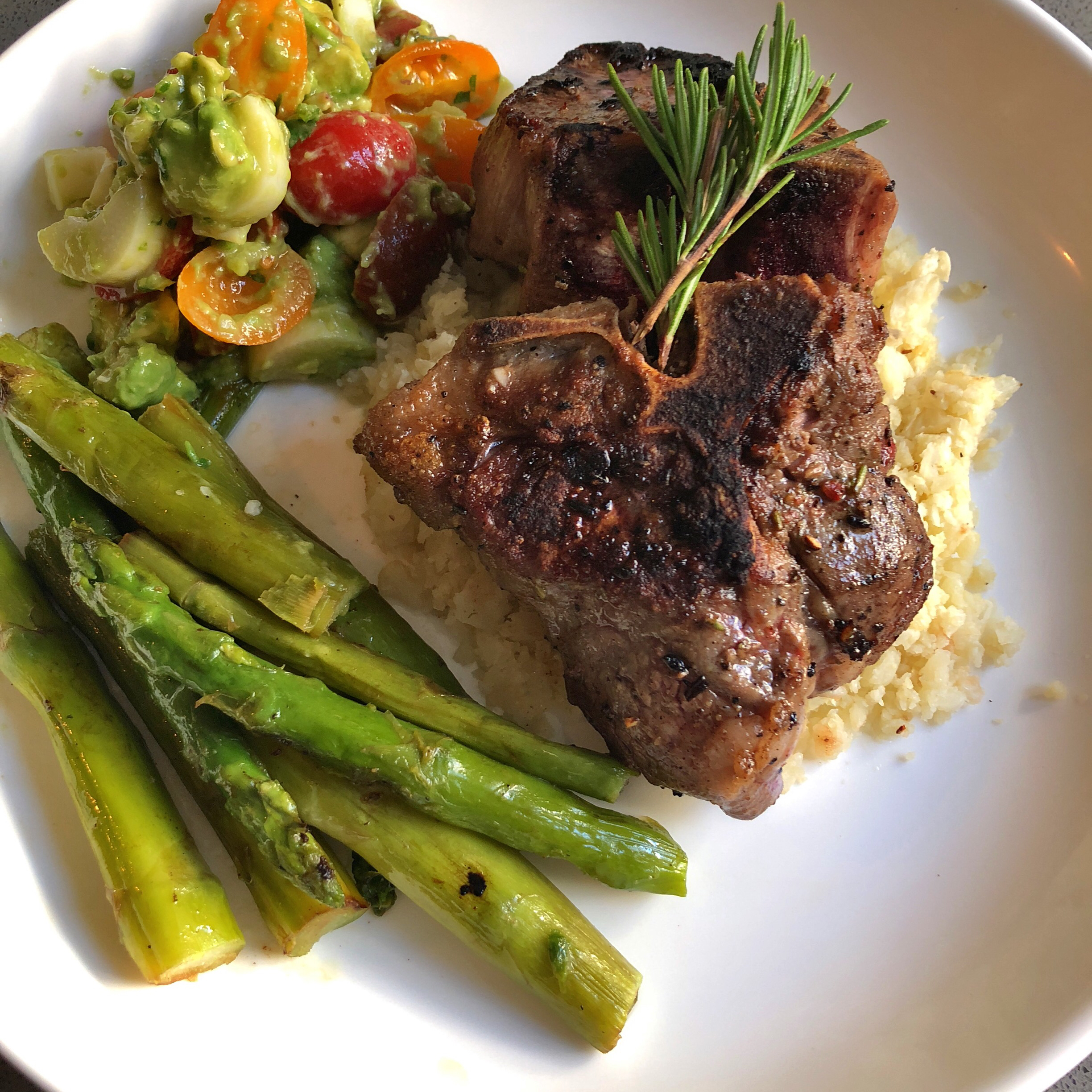 Simple Grilled Lamb Chops Nads Yun