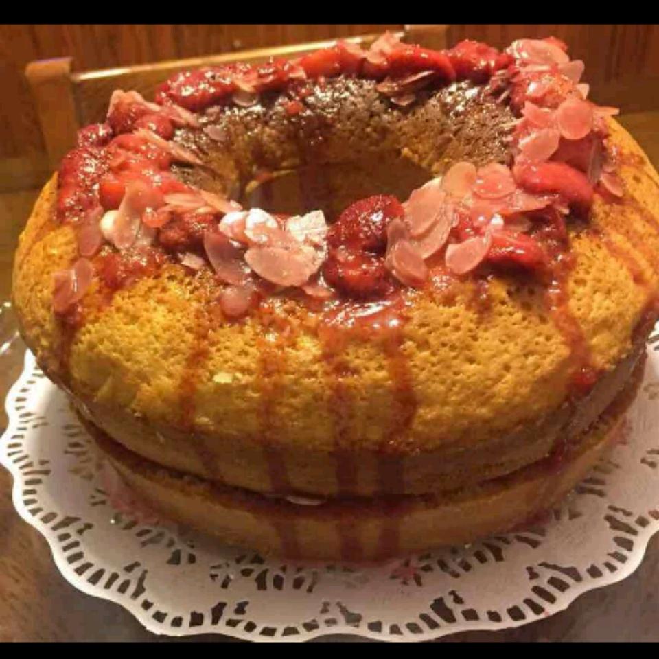 Frosted Strawberry Shortcake Zeinab Moussawi