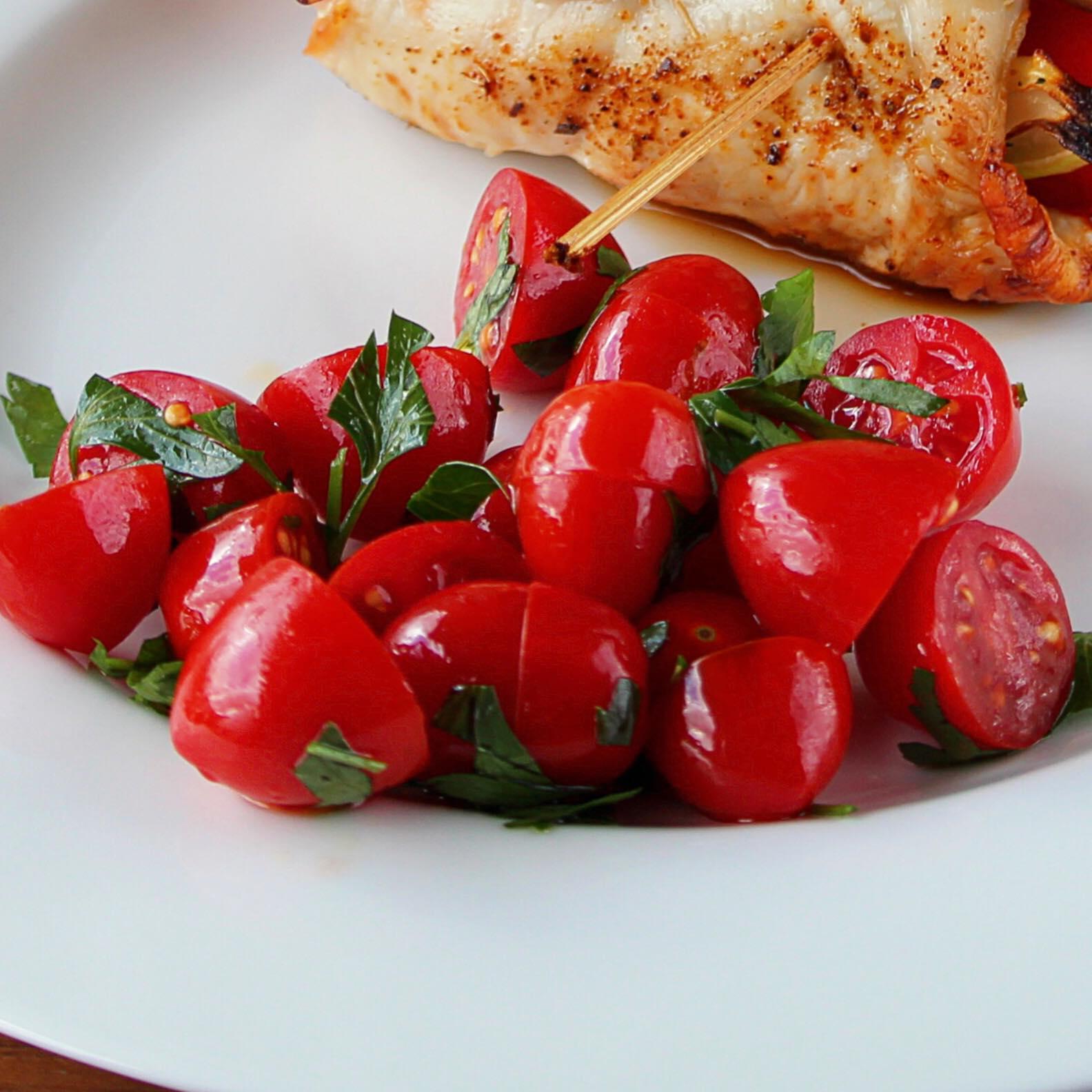 Marinated Cherry Tomato Salad Buckwheat Queen