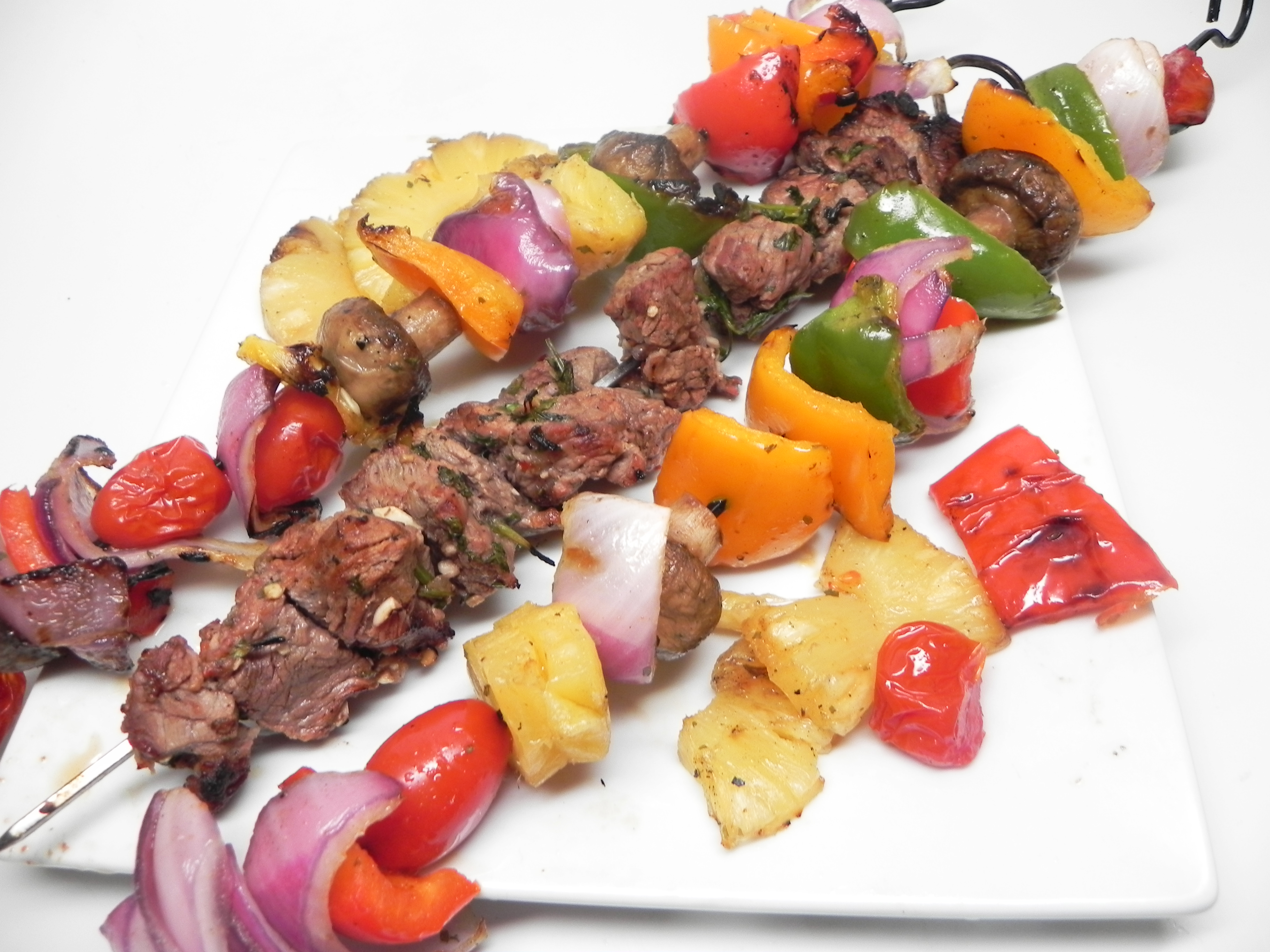 Grilled Southwestern Shish Kebabs
