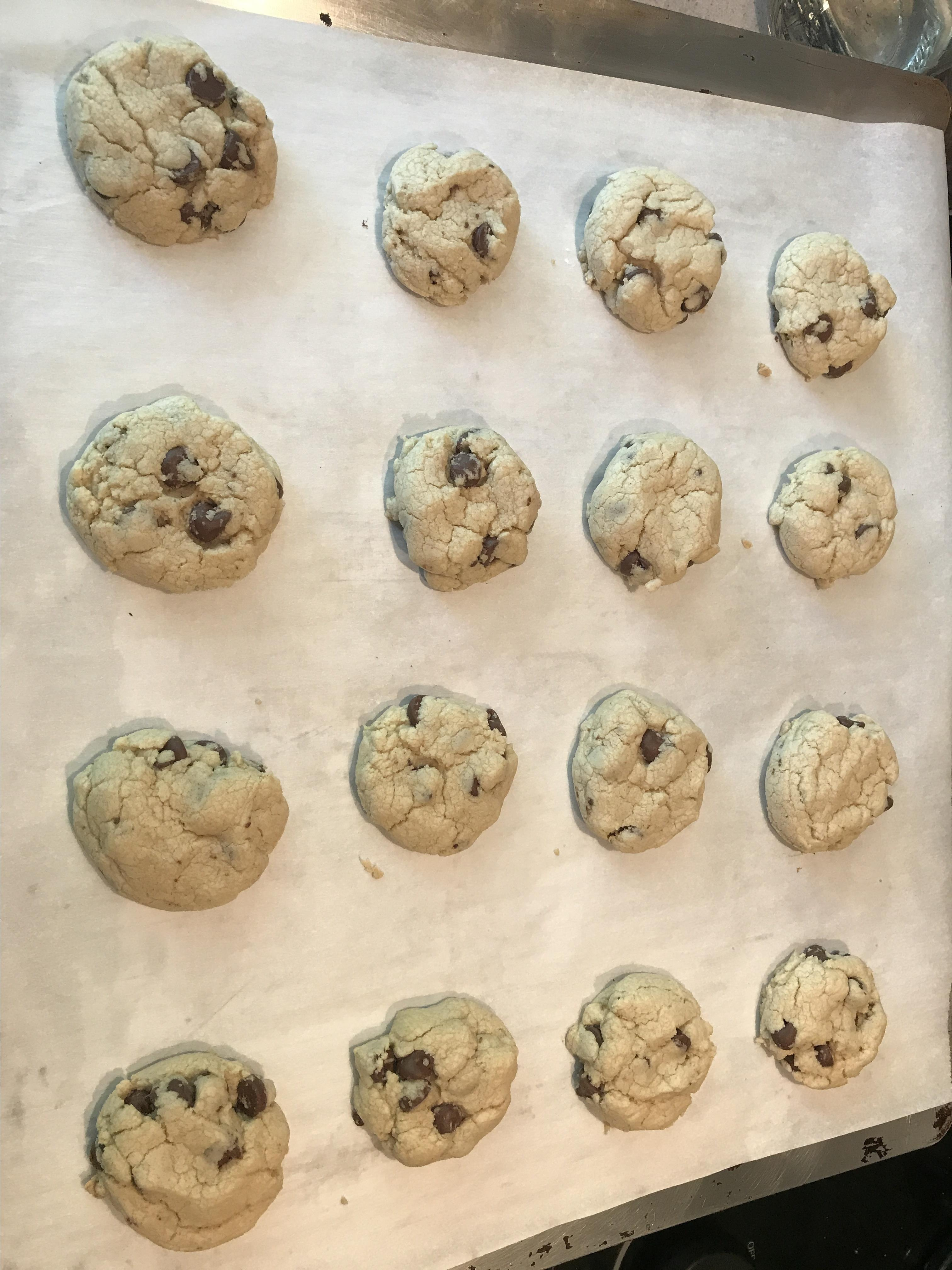 Chocolate Chip Cookies (Gluten Free)