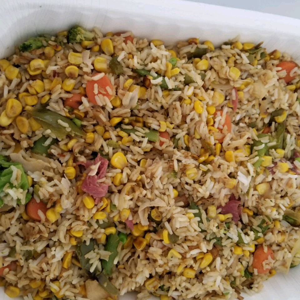 Pineapple Fried Rice with Ham kay