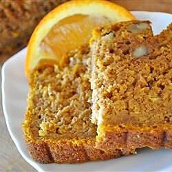 orange pumpkin loaf recipe