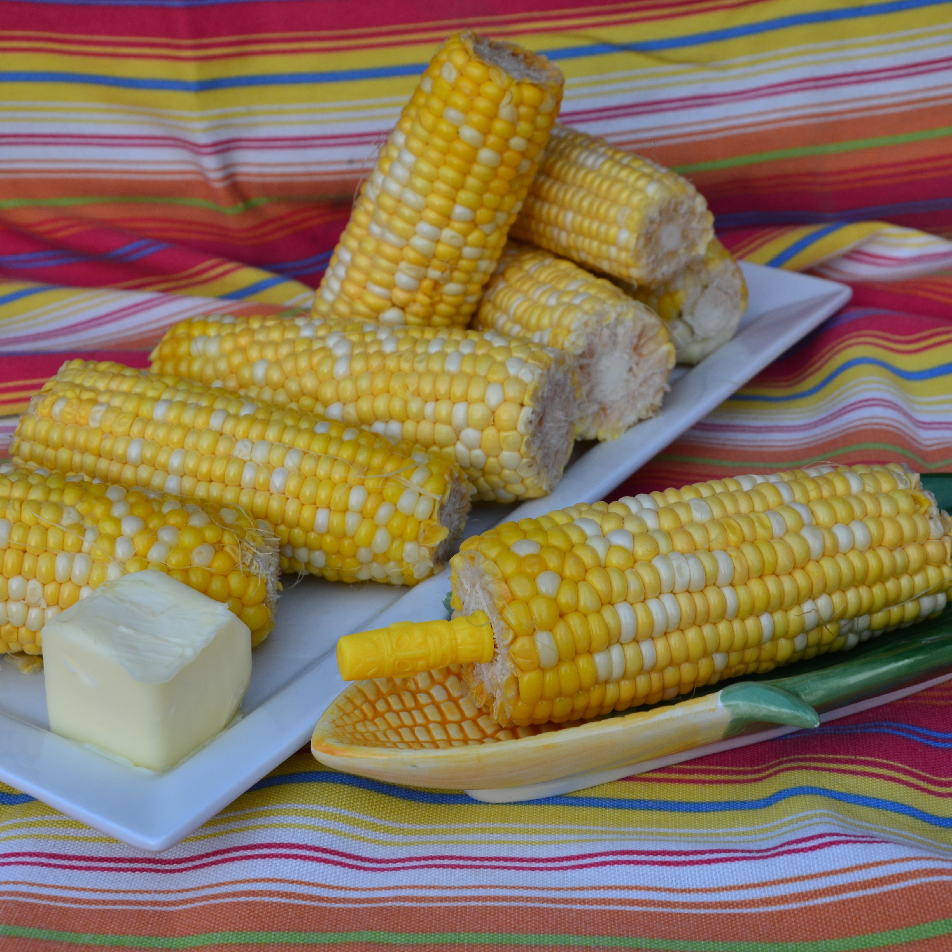 Corn on the Cob in the Microwave