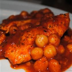 Italian Chicken and Chickpeas