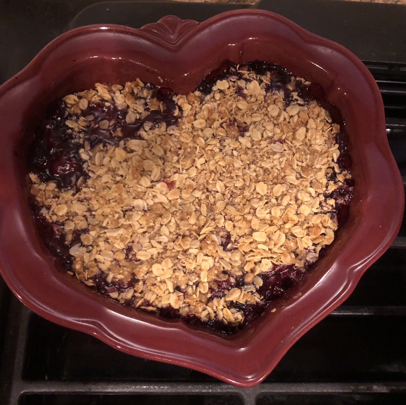Fresh Fruit and Berry Crumble Amy Weiser