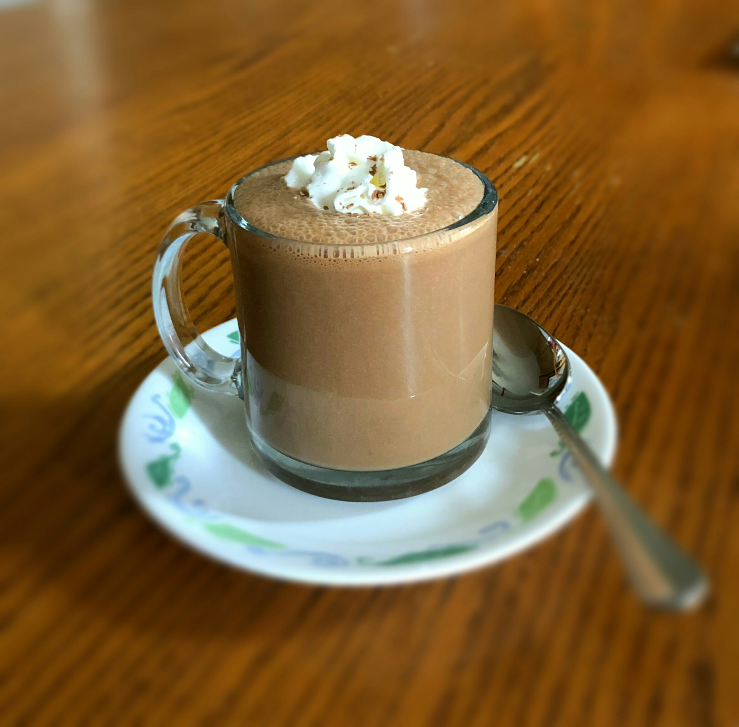 Simple Molten Iced Chocolate Latte