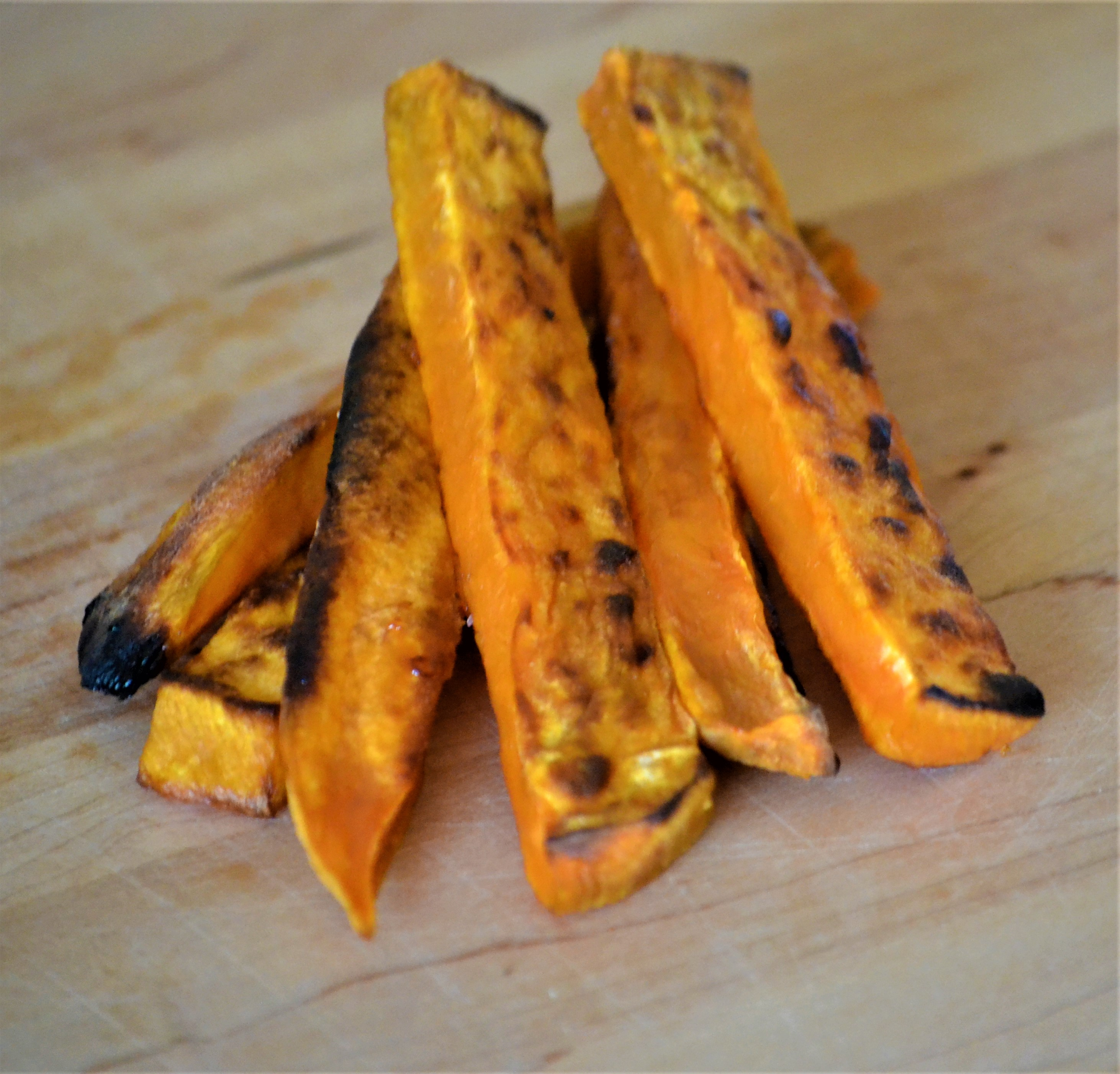 Grilled Chipotle Sweet Potatoes Kim
