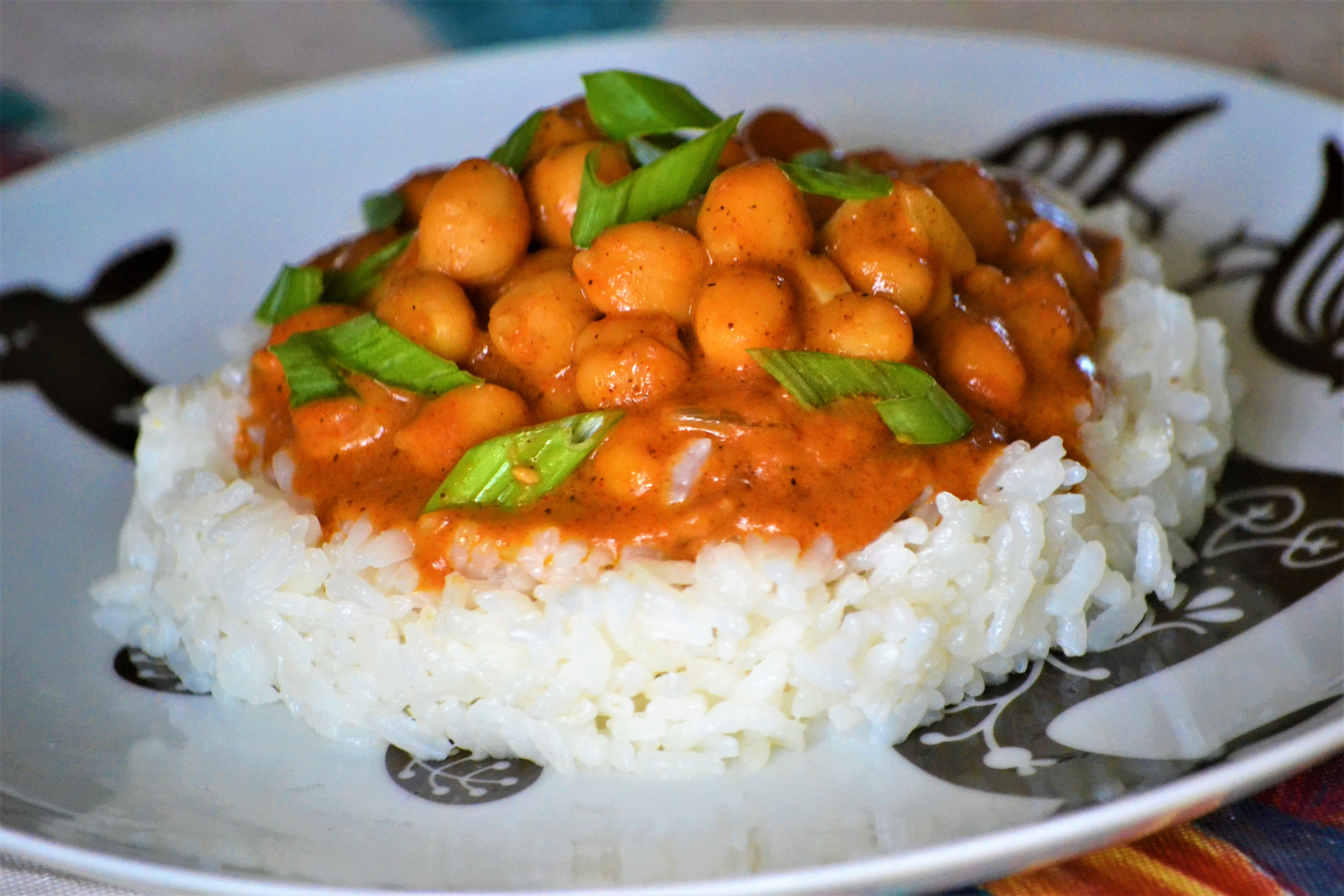 Peanut-Ginger Chickpea Curry Kim