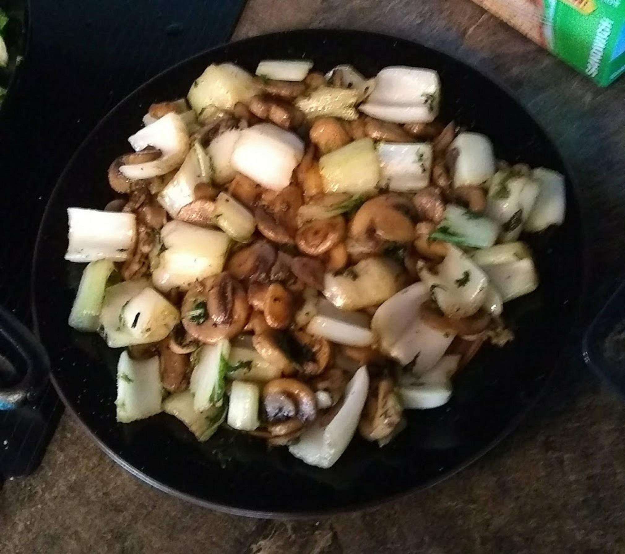Keto Mushroom And Bok Choy Stir Fry Recipe Allrecipes